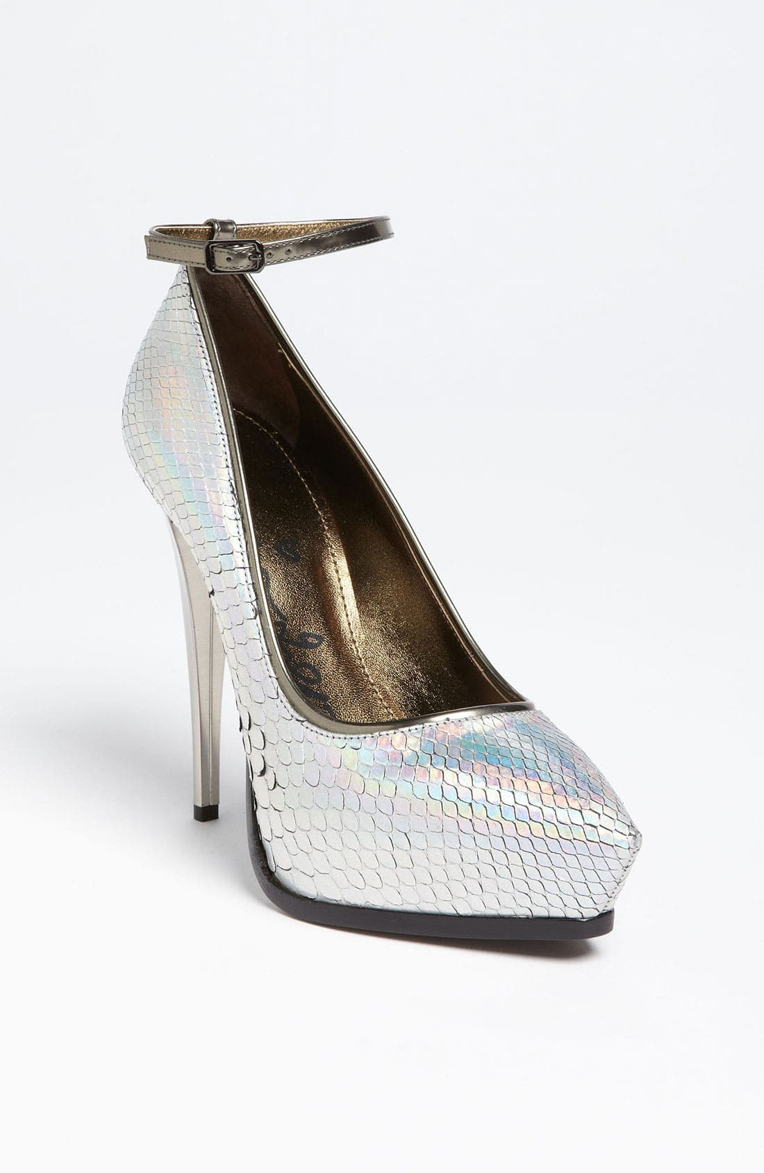 Alternate Image 1 Selected - Lanvin Pointy Toe Python Pump