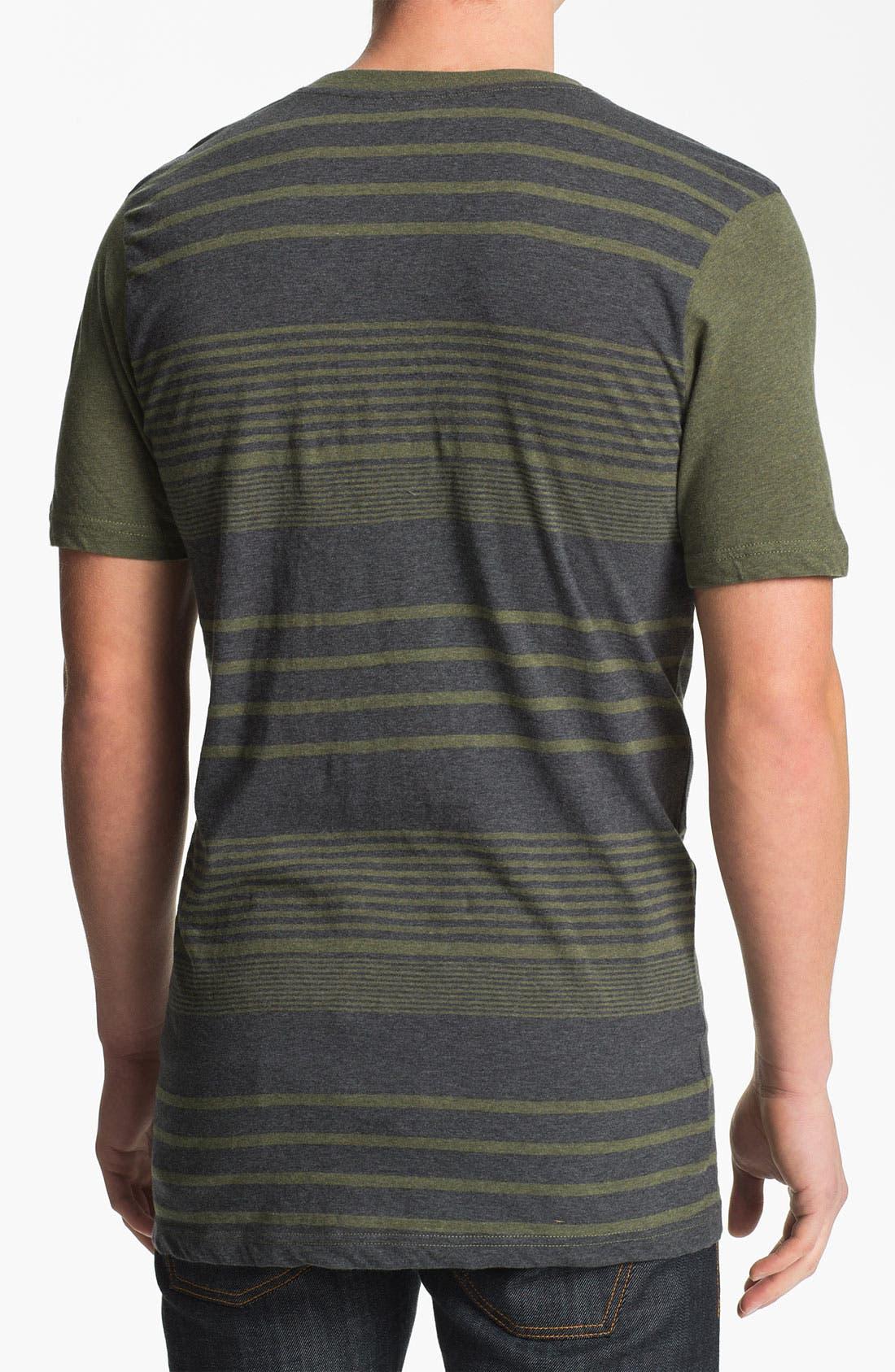 Alternate Image 2  - Ezekiel 'Beachside' Stripe Henley T-Shirt
