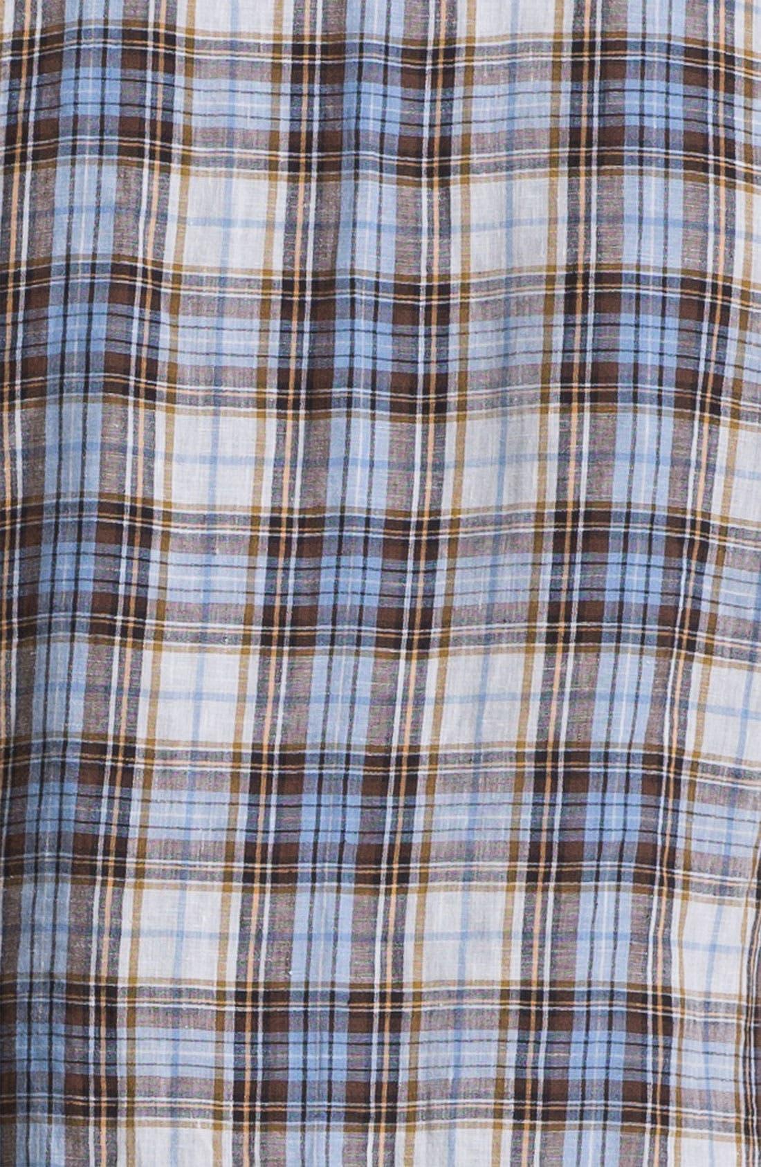Alternate Image 3  - Vince Linen Sport Shirt