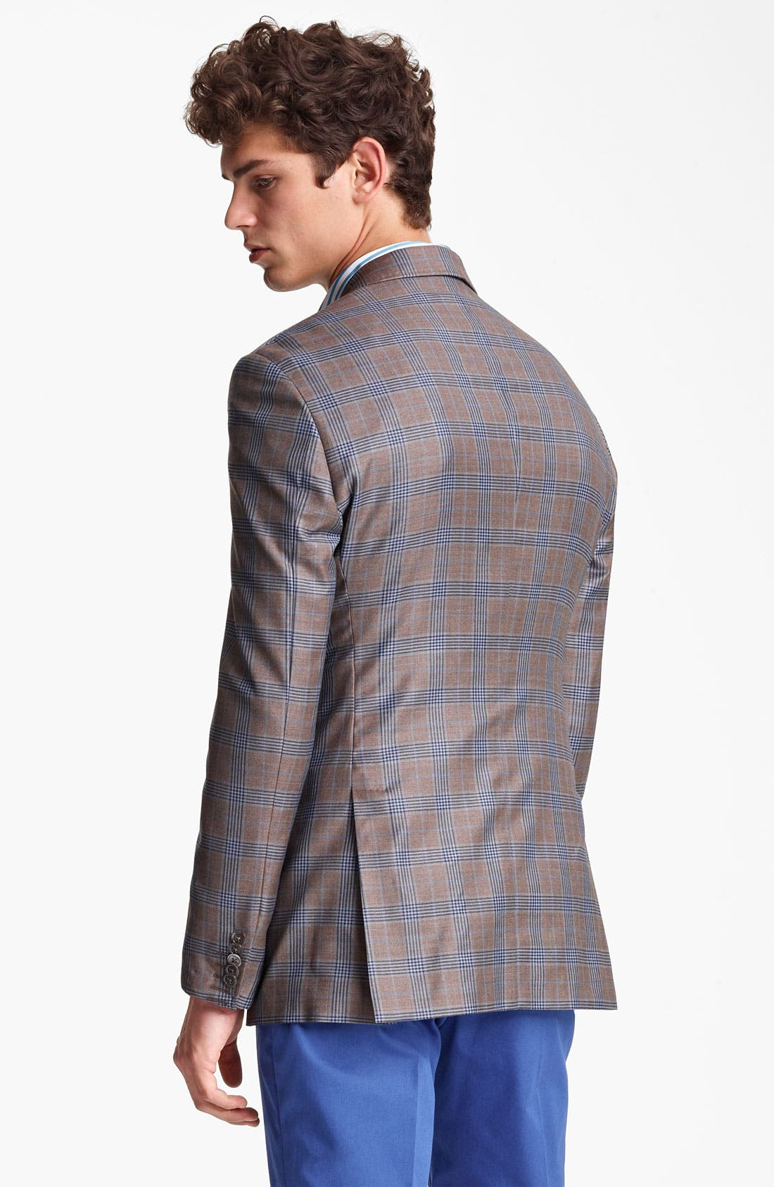 Alternate Image 2  - Paul Smith London Plaid Wool Sportcoat
