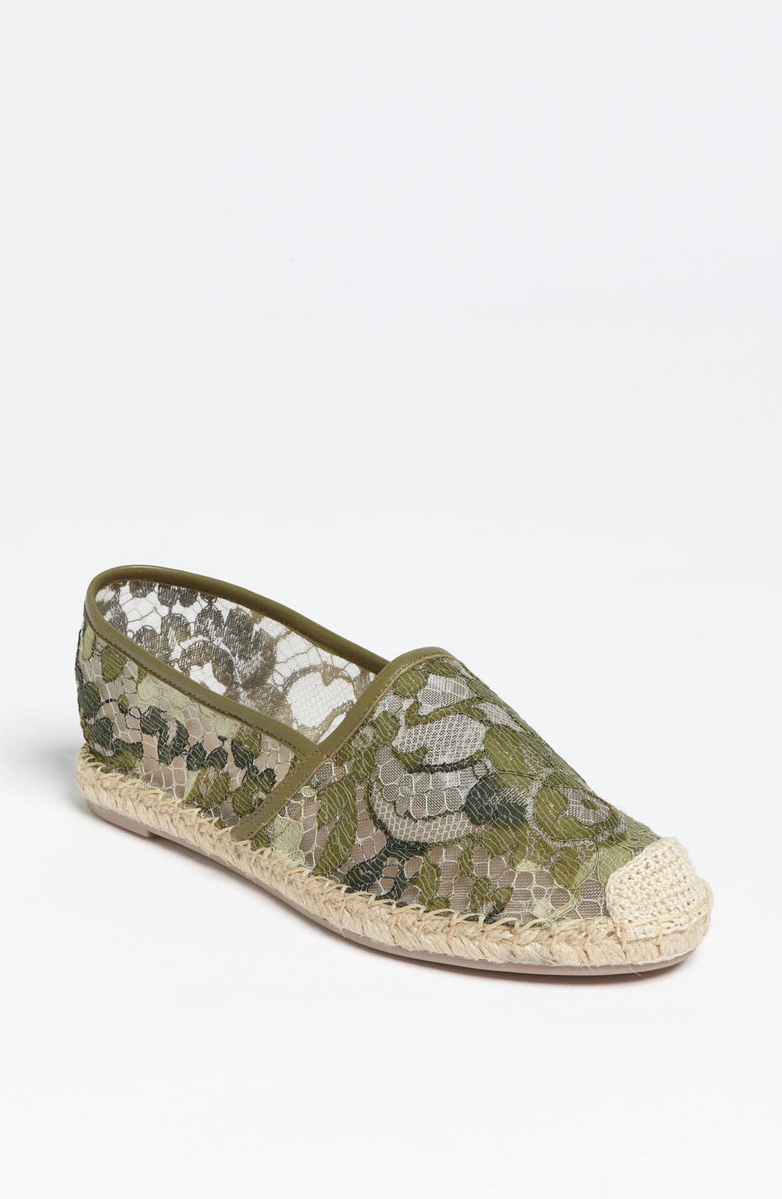 Alternate Image 1 Selected - Valentino 'Camo Lace' Espadrille