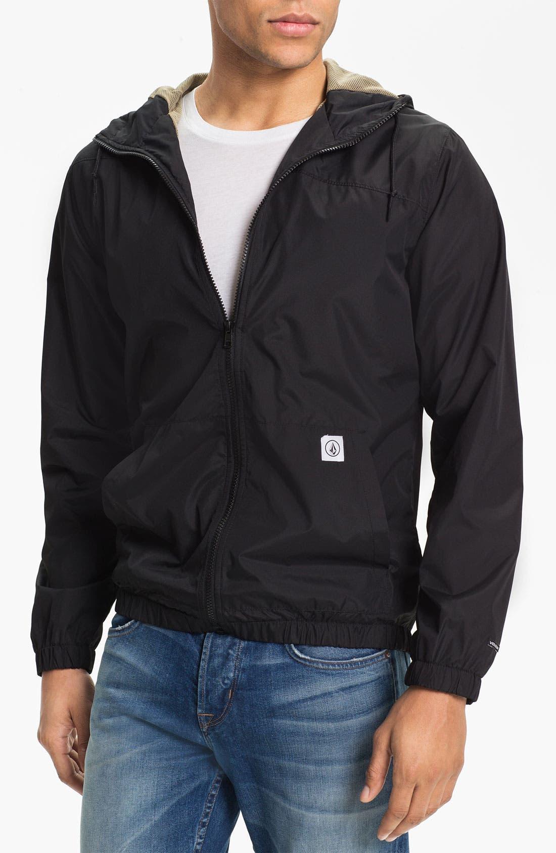 Alternate Image 1 Selected - Volcom 'Ringer' Windbreaker Jacket