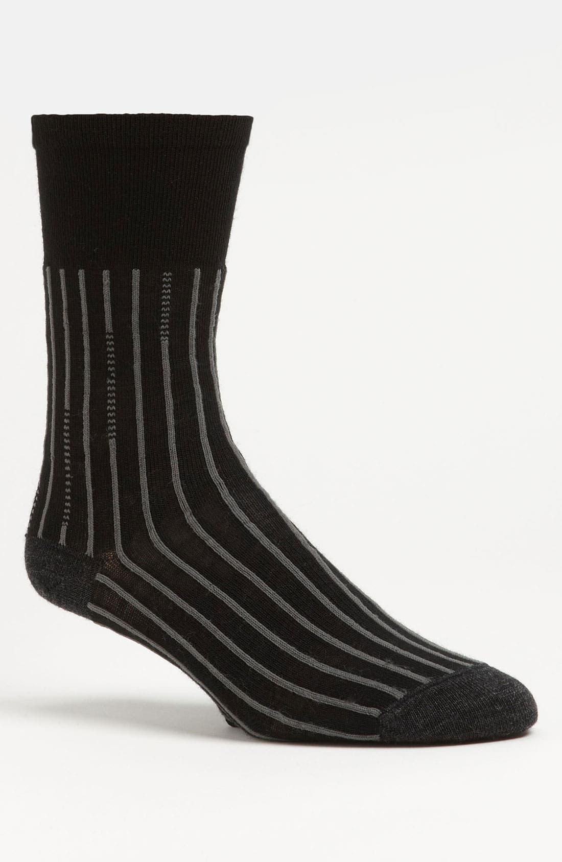 Alternate Image 1 Selected - Smartwool Broken Pinstripe Socks