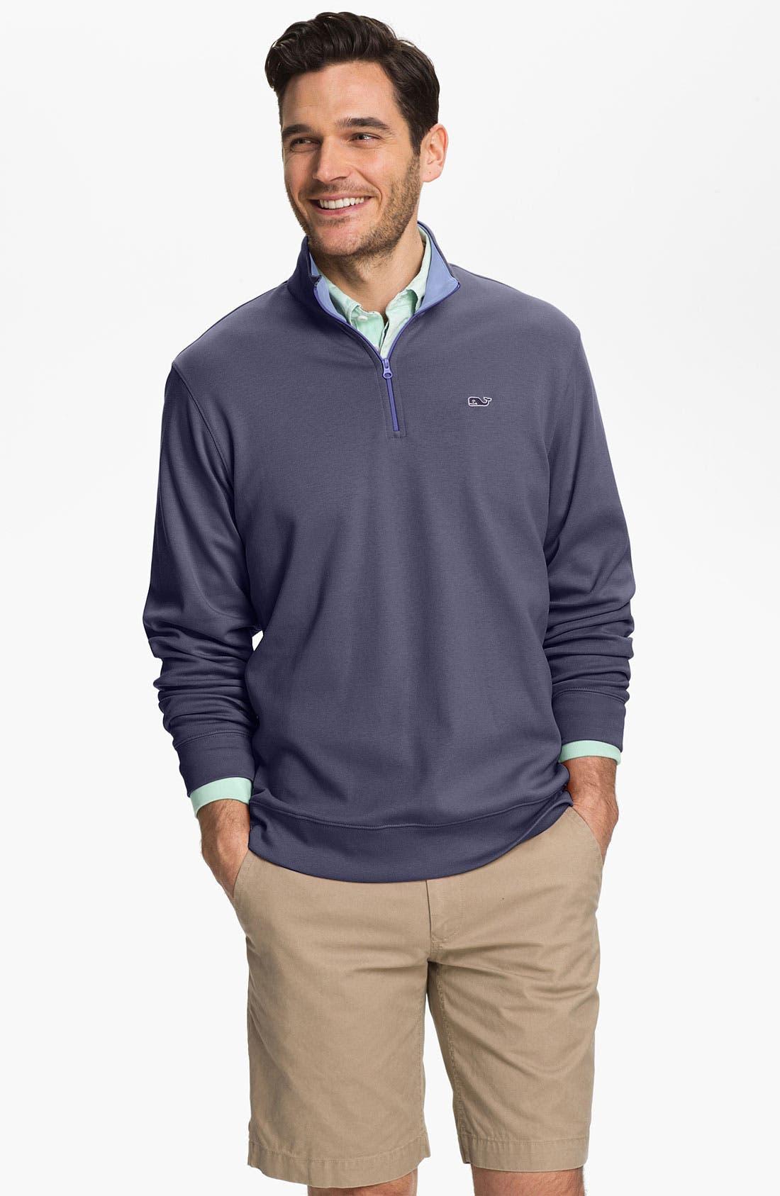 Alternate Image 1 Selected - Vineyard Vines Quarter Zip Sweatshirt