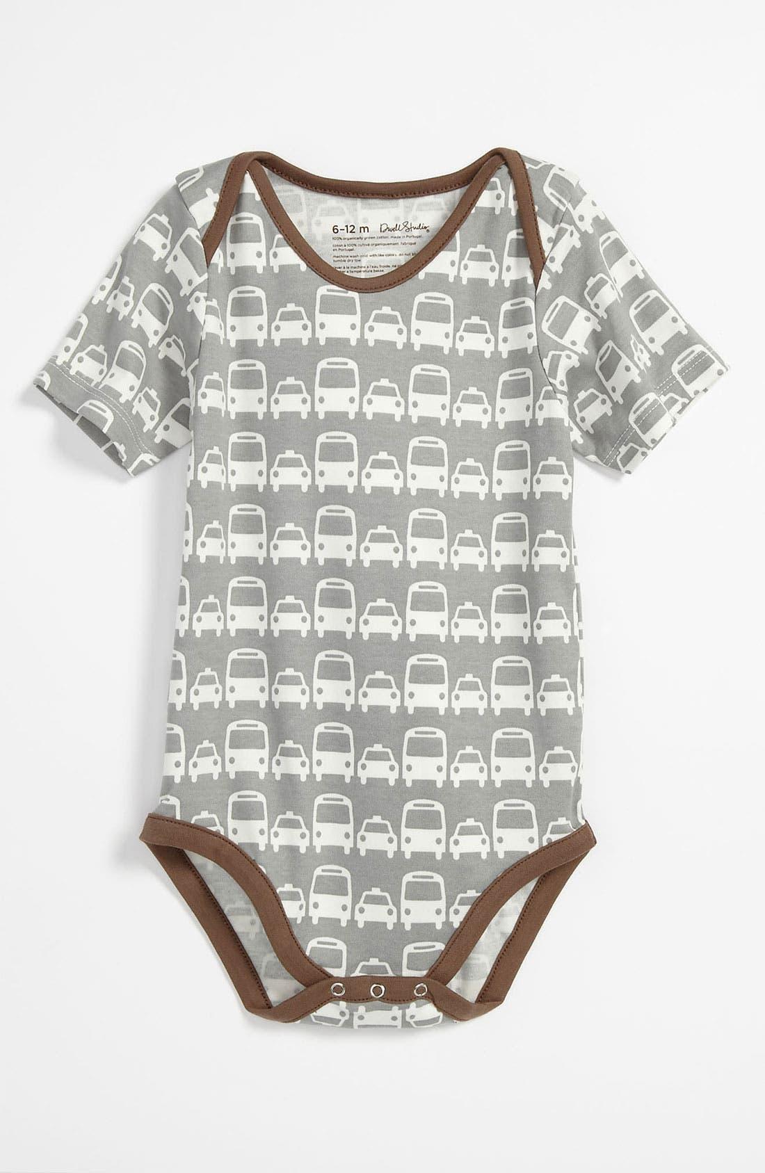 Alternate Image 1 Selected - DwellStudio Print Bodysuit (Infant)