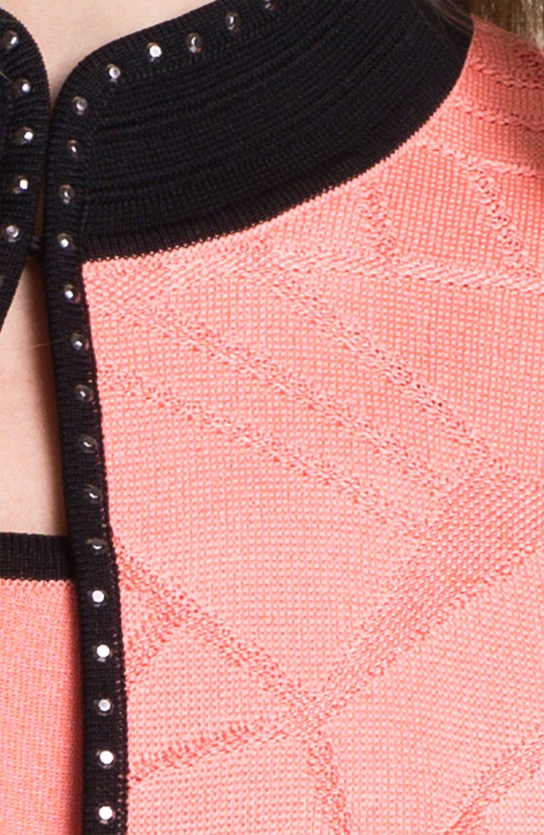Alternate Image 3  - Ming Wang Embellished Stand Collar Jacket