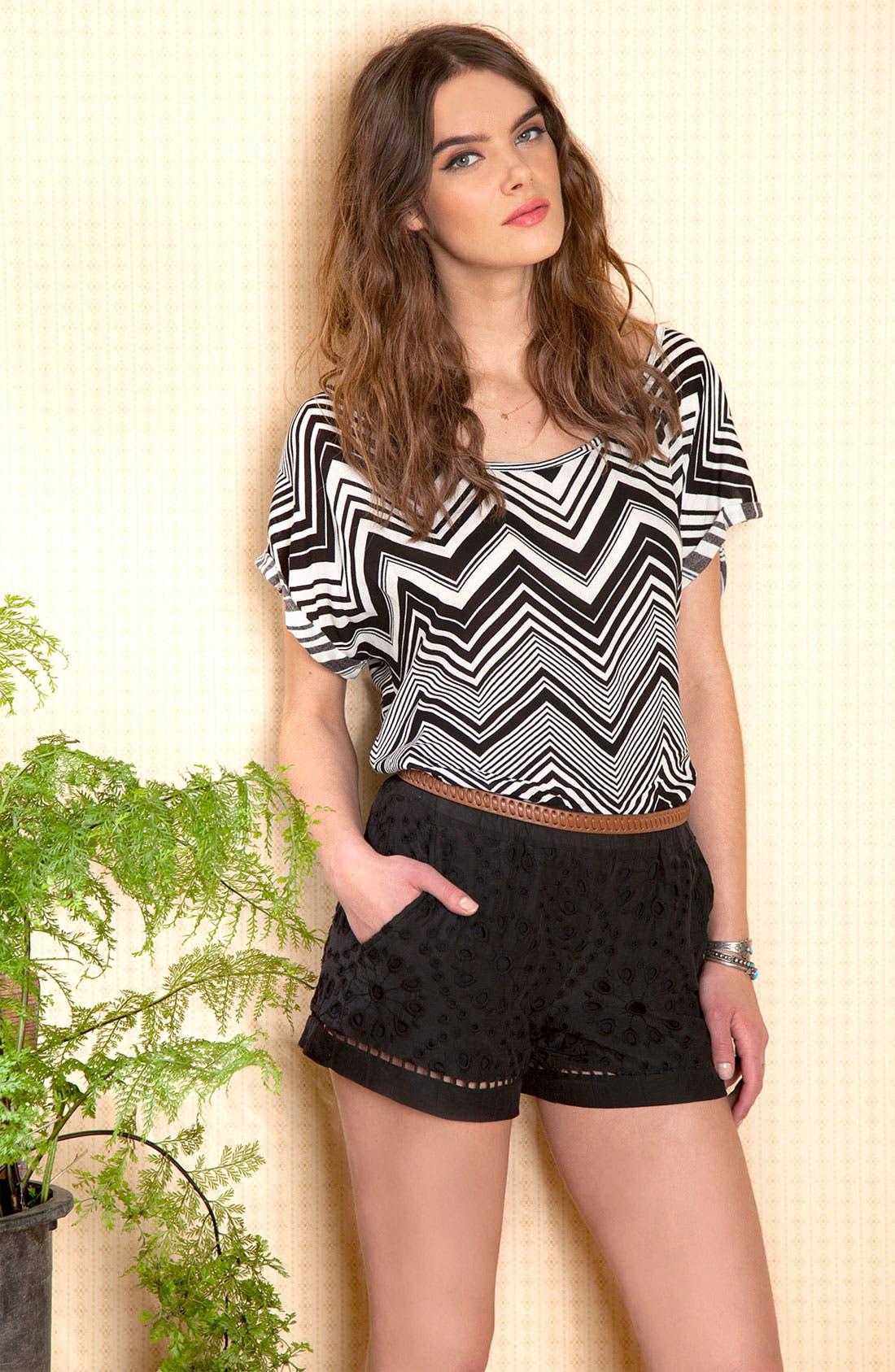 Alternate Image 4  - Ella Moss 'Heidi' Eyelet Lace Shorts