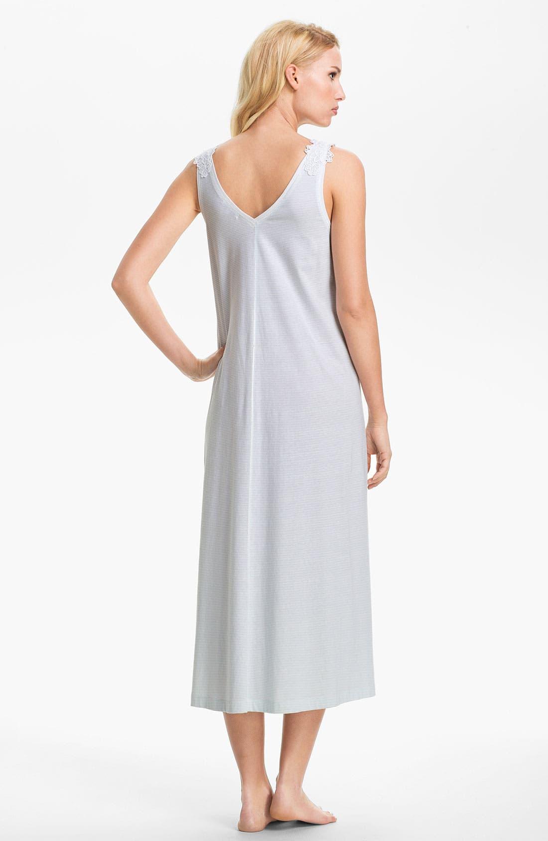 Alternate Image 2  - Carole Hochman Designs Sleeveless Nightgown
