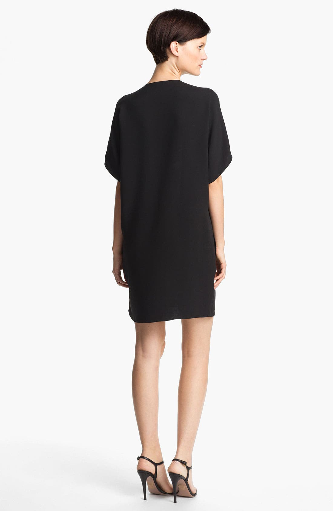 Alternate Image 2  - Vince Trapunto Silk Shift Dress