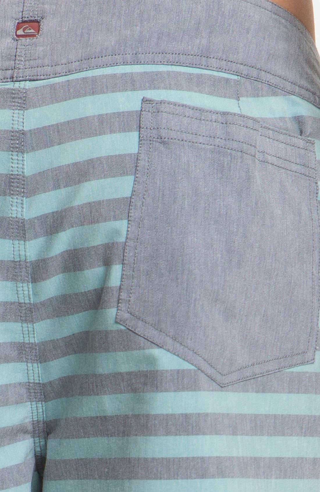 Alternate Image 3  - Quiksilver 'Biarritz' Stripe Board Shorts