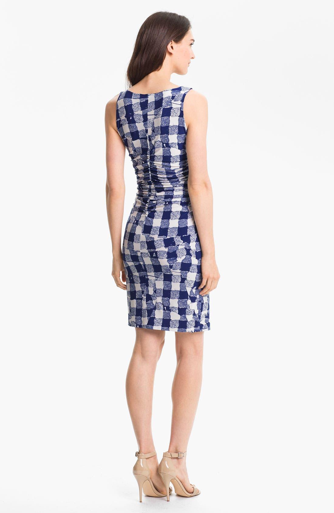 Alternate Image 2  - KAMALIKULTURE Print Shirred Dress