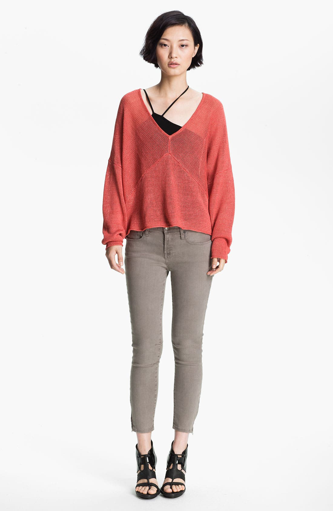 Alternate Image 2  - HELMUT Helmut Lang Linen Sweater