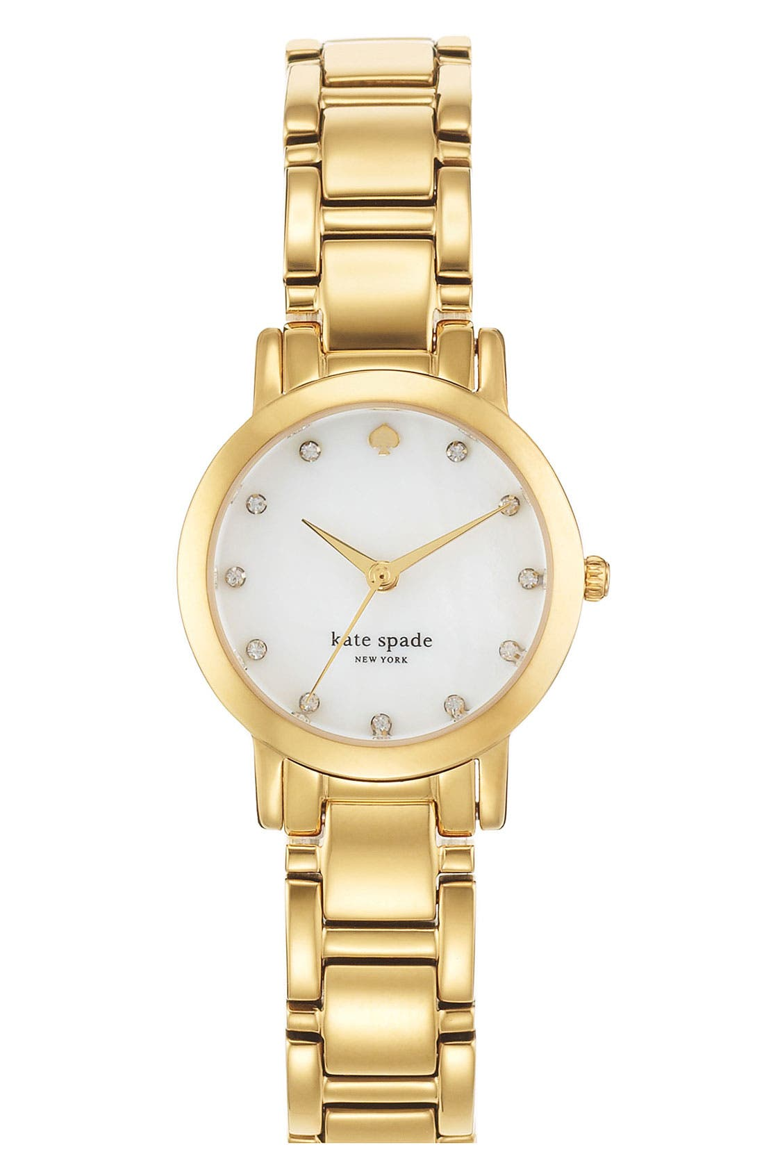 Alternate Image 1 Selected - kate spade new york 'gramercy mini' crystal index watch, 24mm