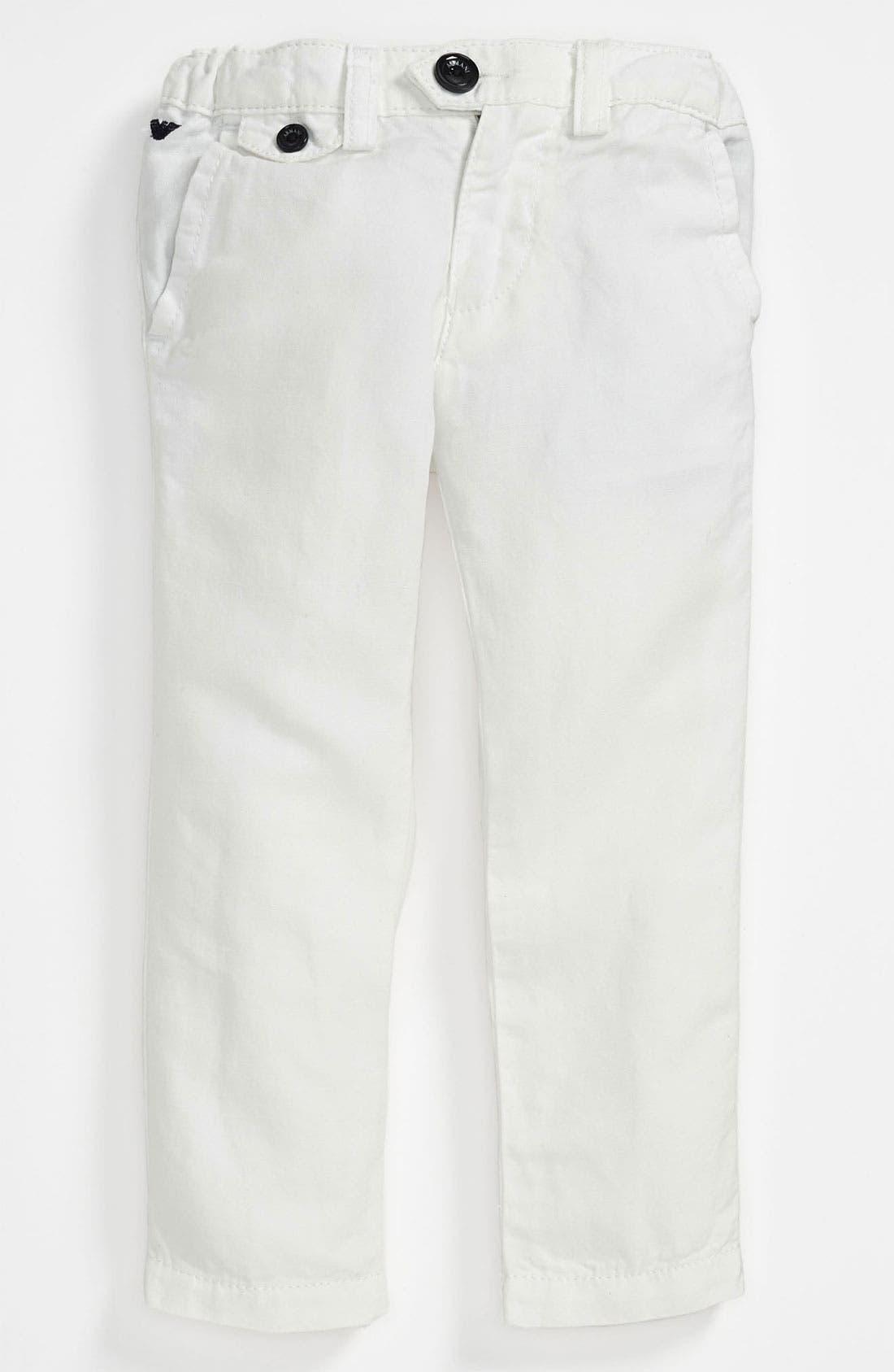 Alternate Image 1 Selected - Armani Junior Pants (Toddler & Little Boys)
