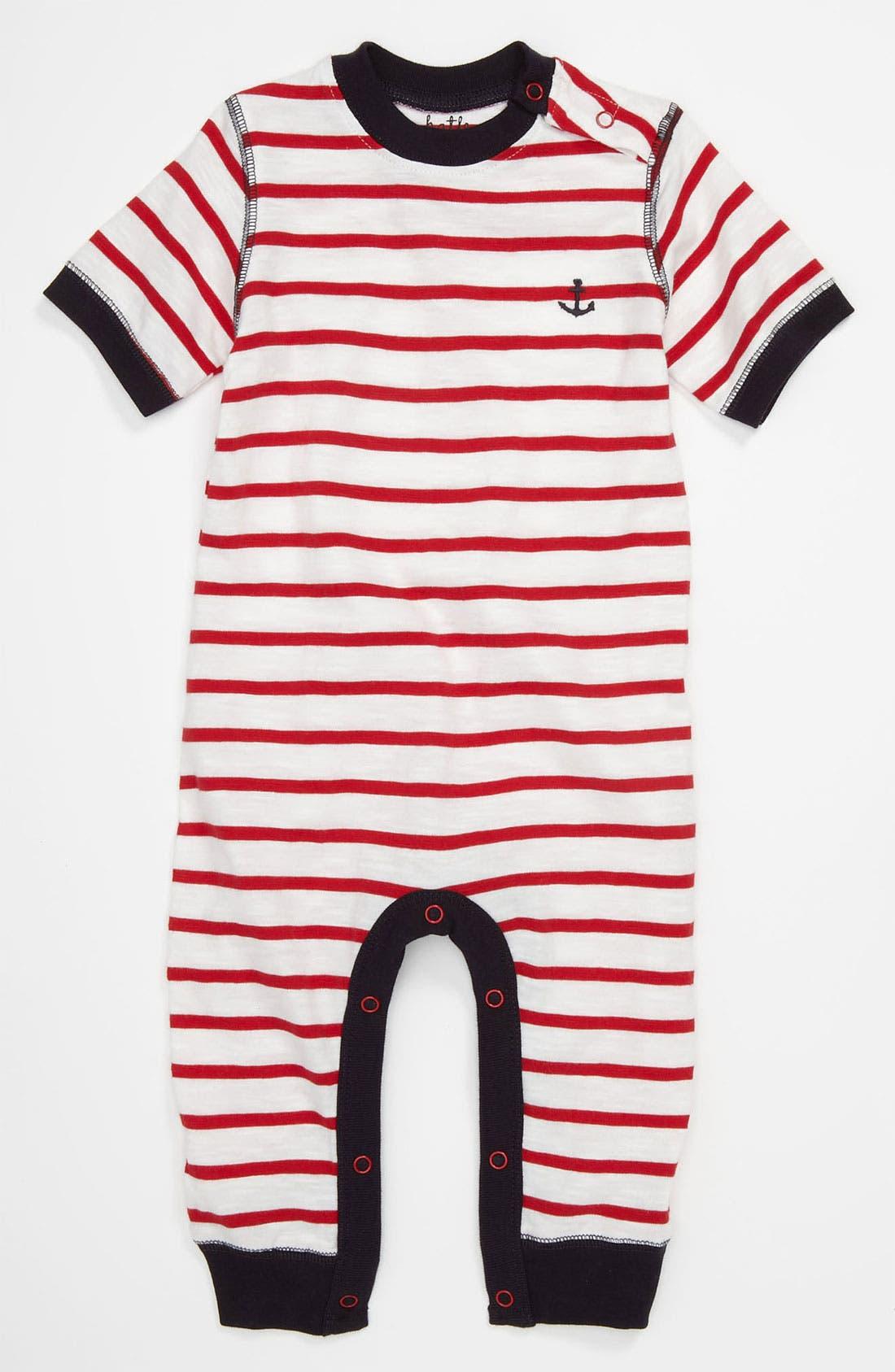 Alternate Image 1 Selected - Hatley Stripe Pajamas (Baby)