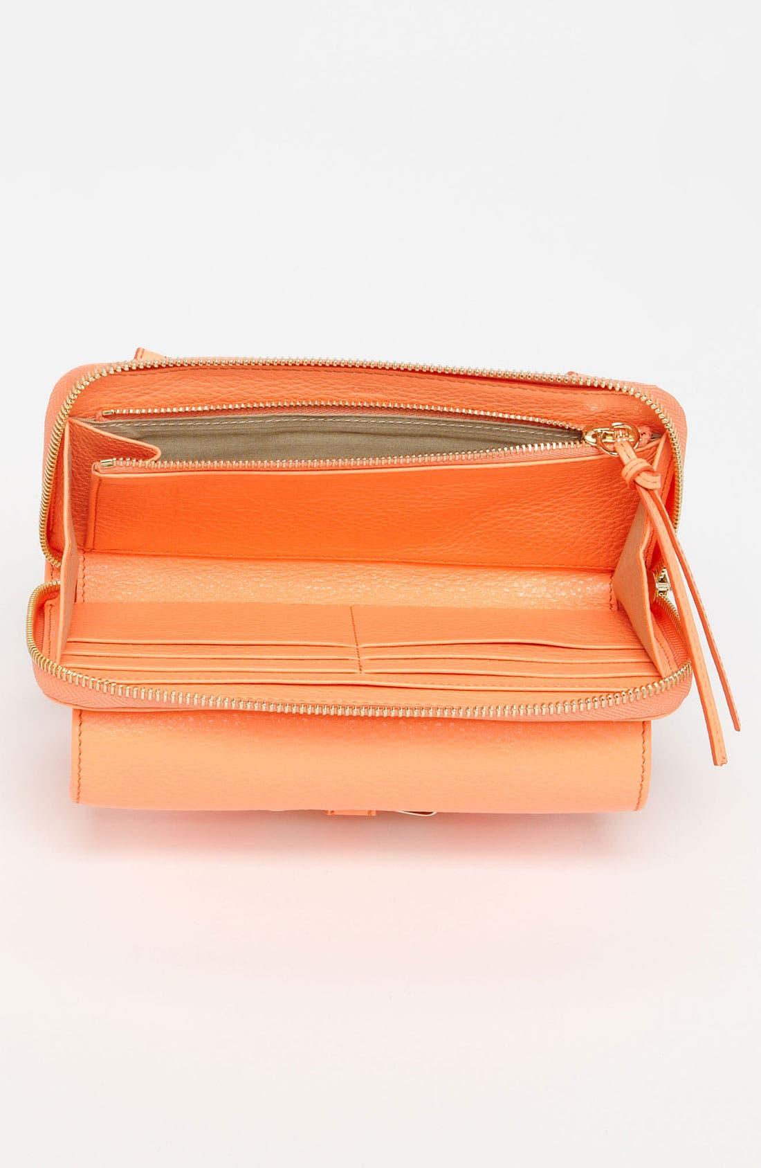 Alternate Image 3  - Chloé 'Lily - Long' Sunglasses Case & Crossbody Wallet