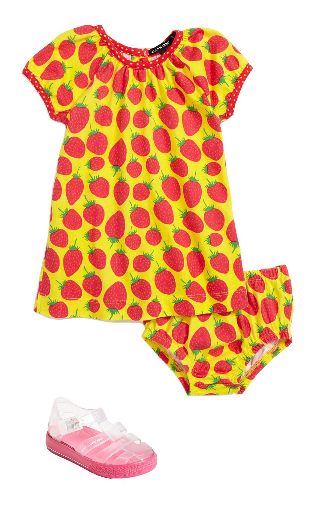 Alternate Image 1 Selected - Marimekko Dress & Bloomers (Infant)