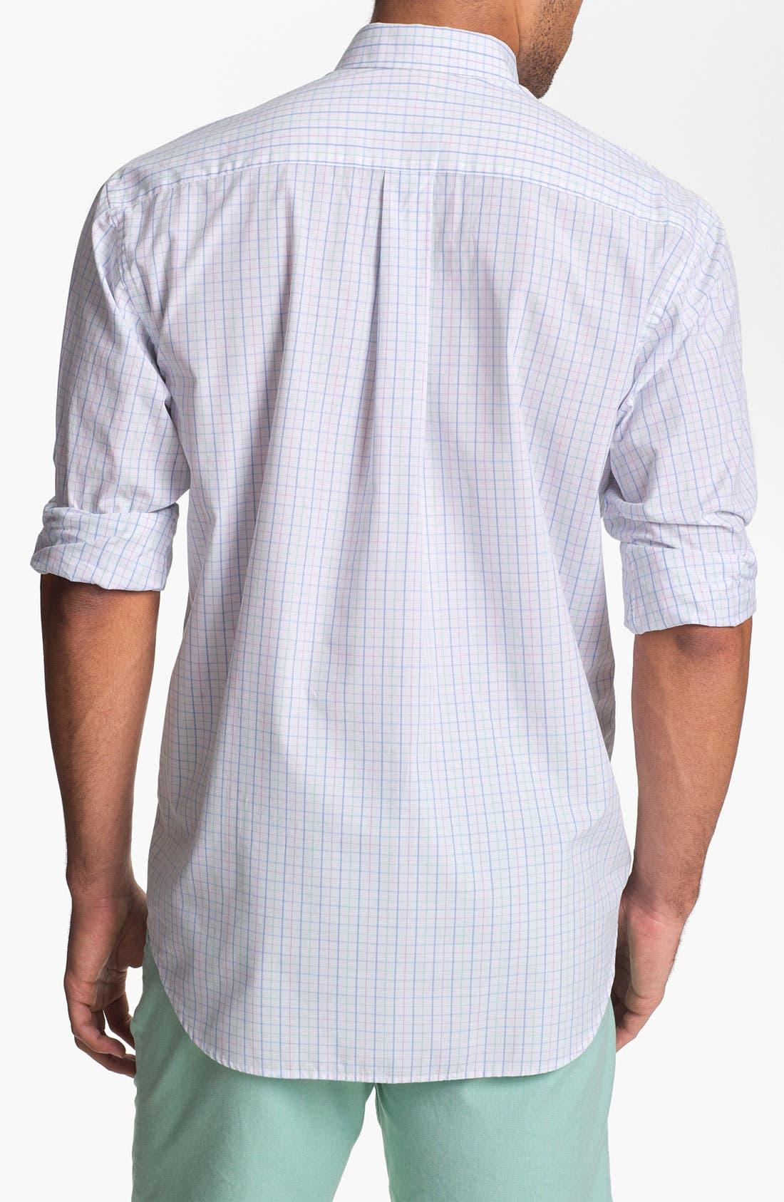 Alternate Image 2  - Vineyard Vines 'Cades Bay' Regular Fit Sport Shirt