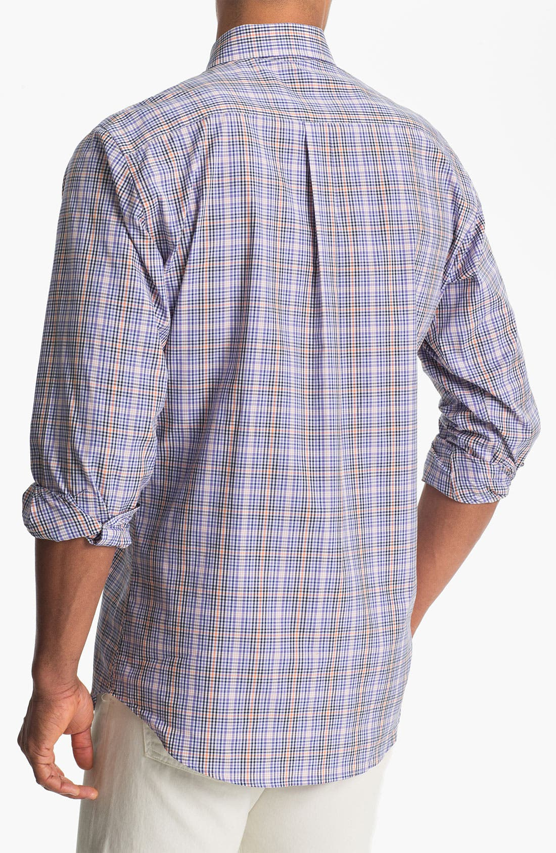Alternate Image 2  - Peter Millar Sport Shirt (Tall)