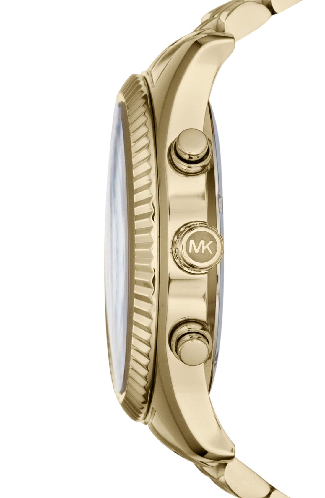 Alternate Image 3  - Michael Kors 'Large Lexington' Chronograph Bracelet Watch, 45mm