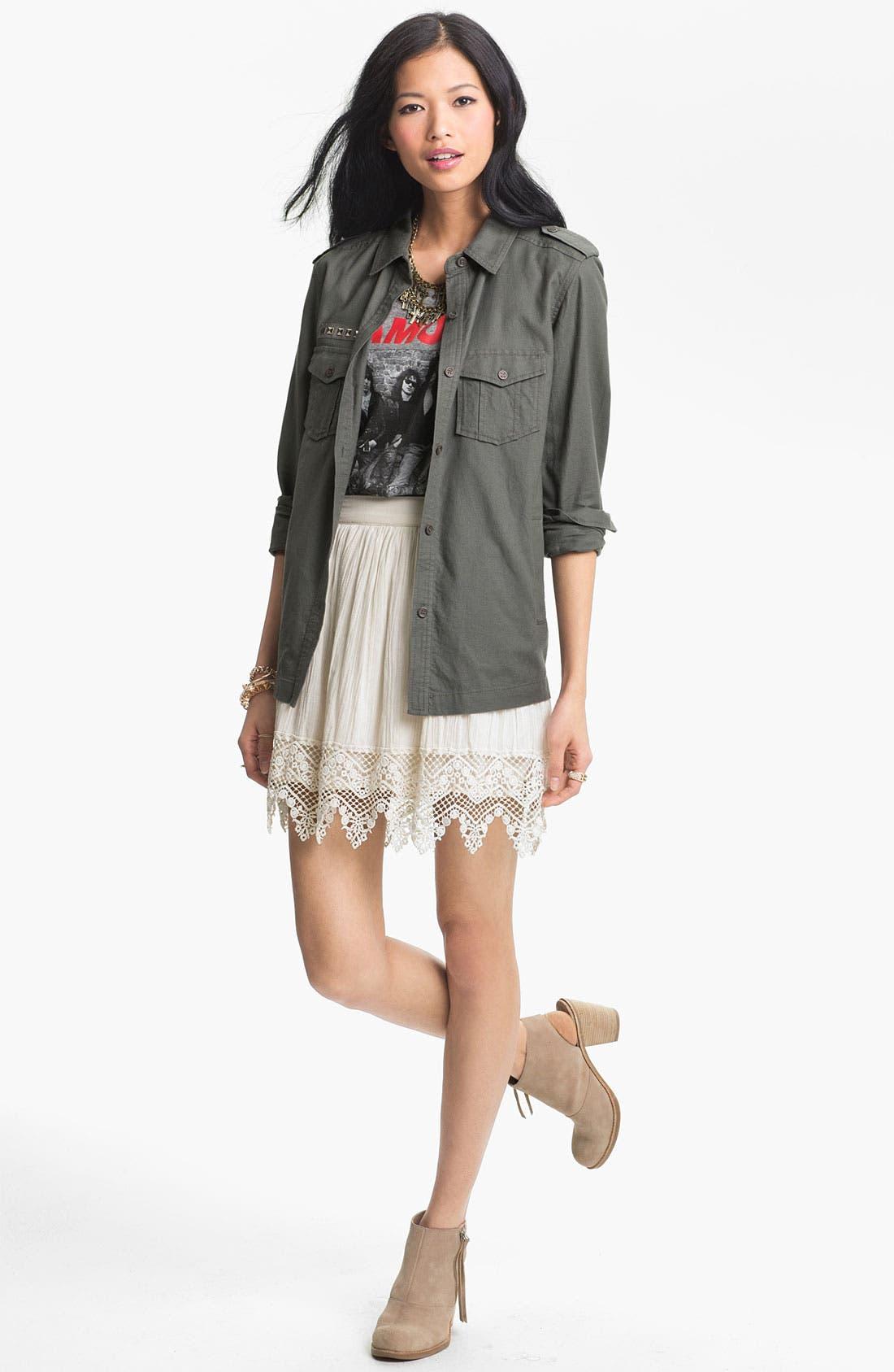 Alternate Image 1 Selected - Rubbish® Jacket & Frenchi® Skirt
