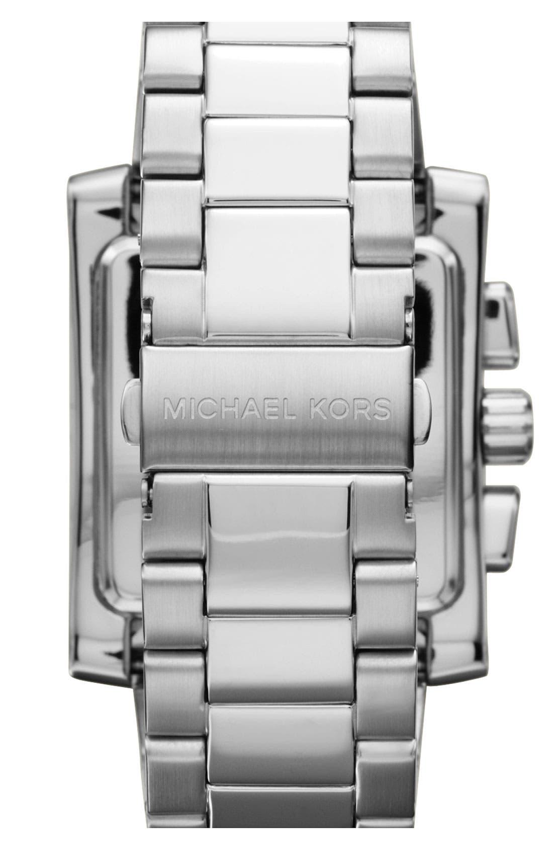 Alternate Image 3  - Michael Kors 'Gia' Chronograph Bracelet Watch