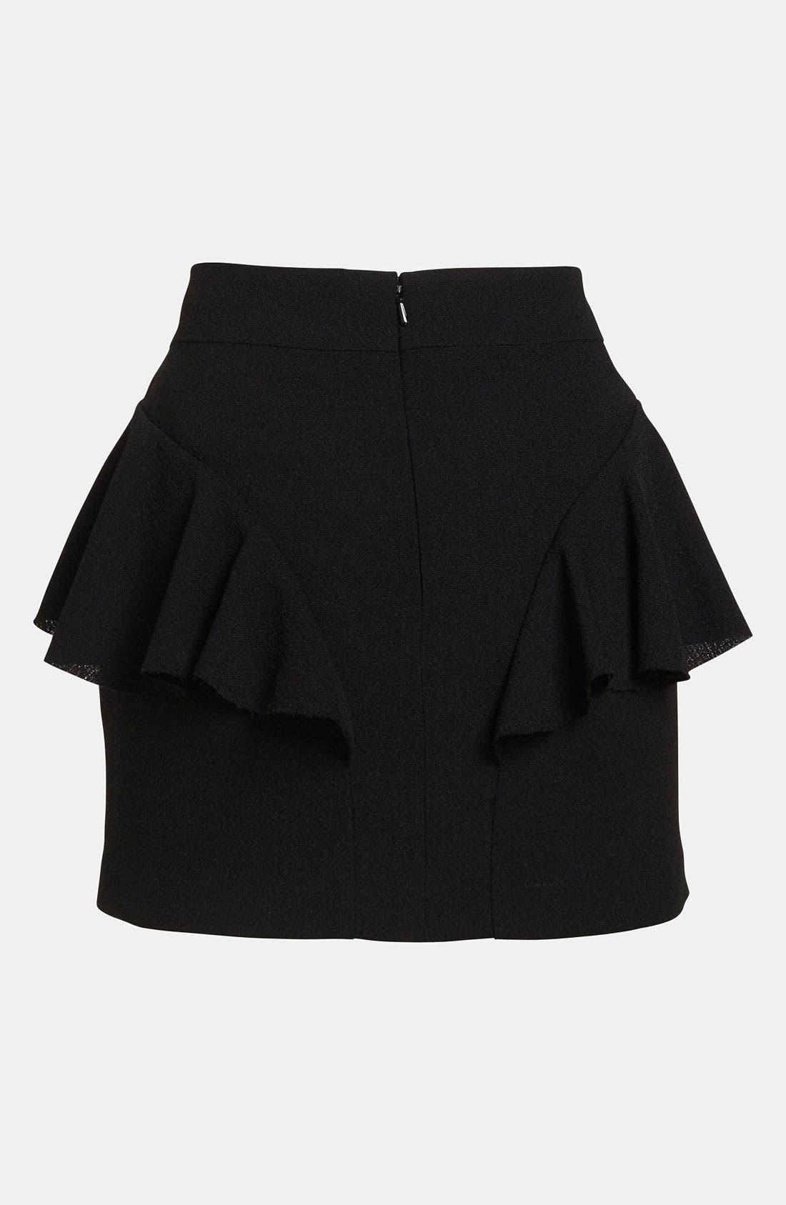 Alternate Image 3  - Tildon Side Ruffle Skirt