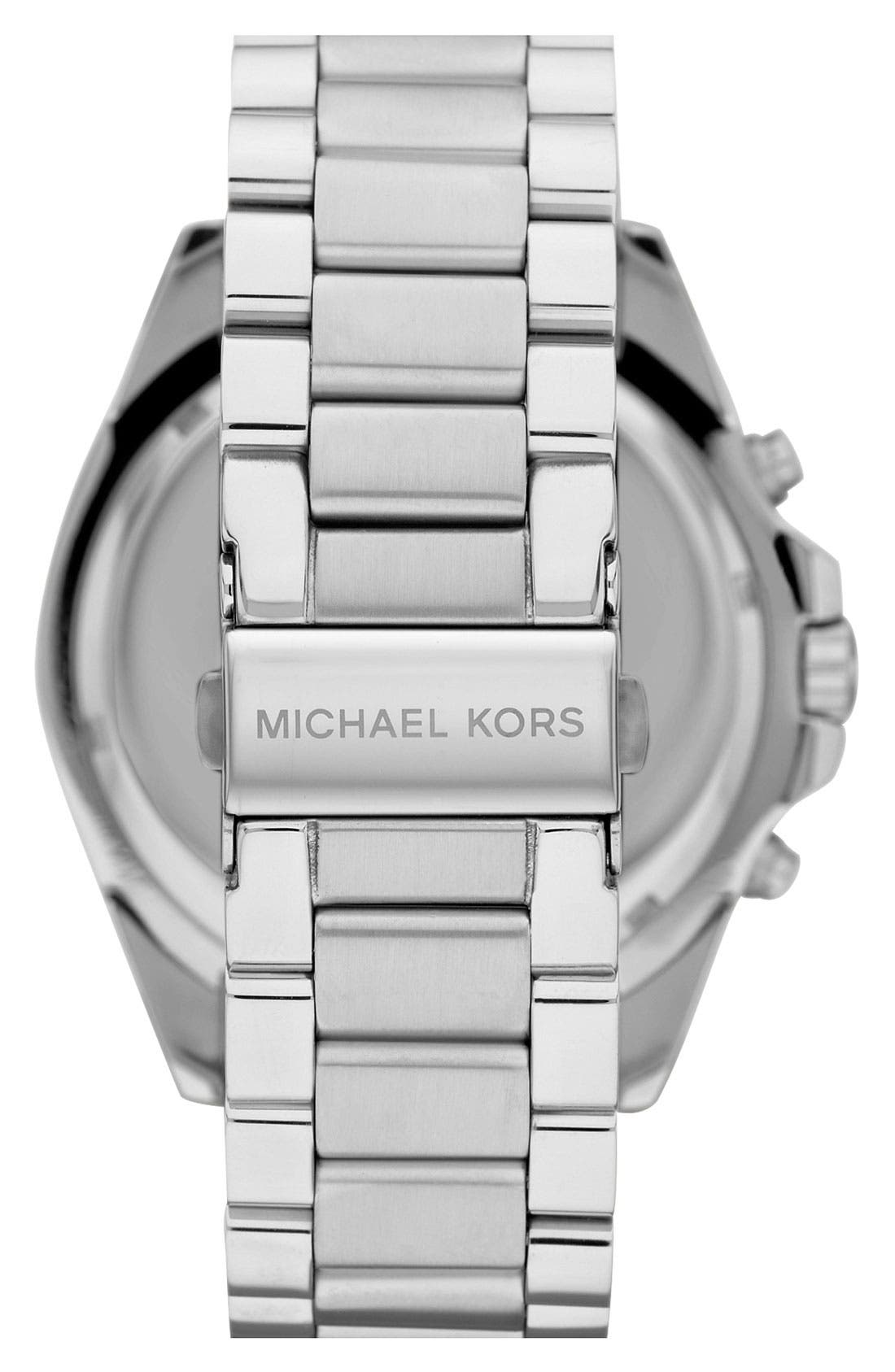 Alternate Image 3  - Michael Kors 'Bradshaw' Chronograph Bracelet Watch