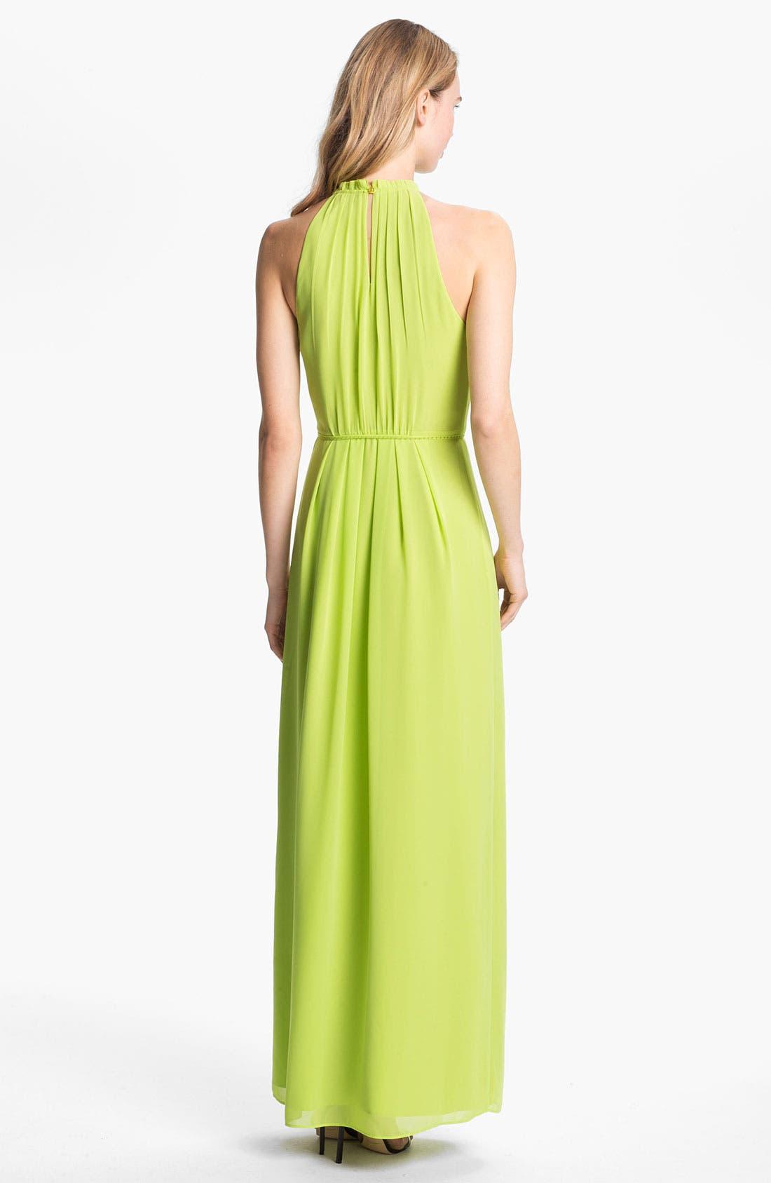 Alternate Image 2  - Ted Baker London Halter Maxi Dress (Online Only)