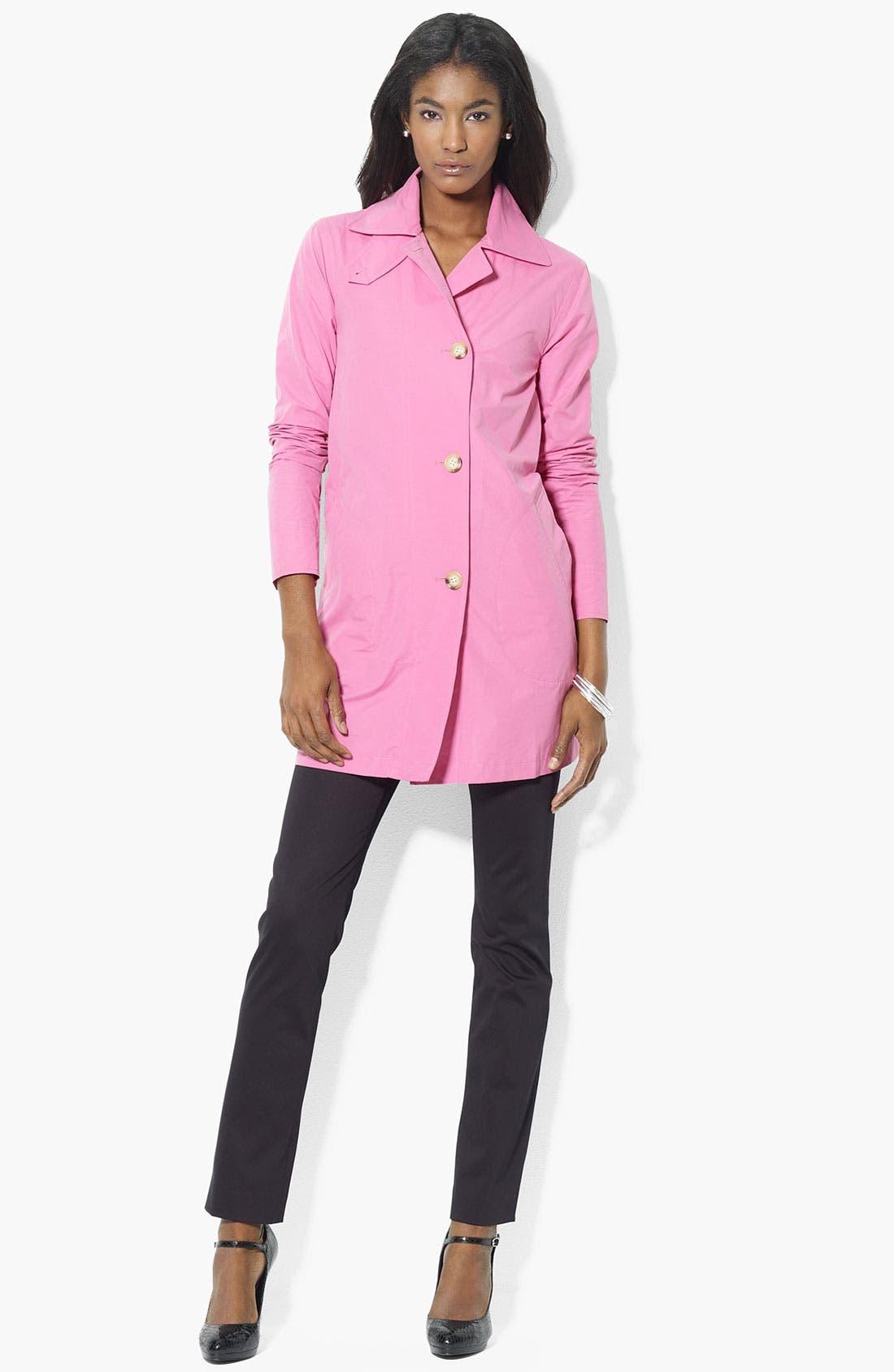 Main Image - Lauren Ralph Lauren Button Front Jacket (Petite) (Online Exclusive)