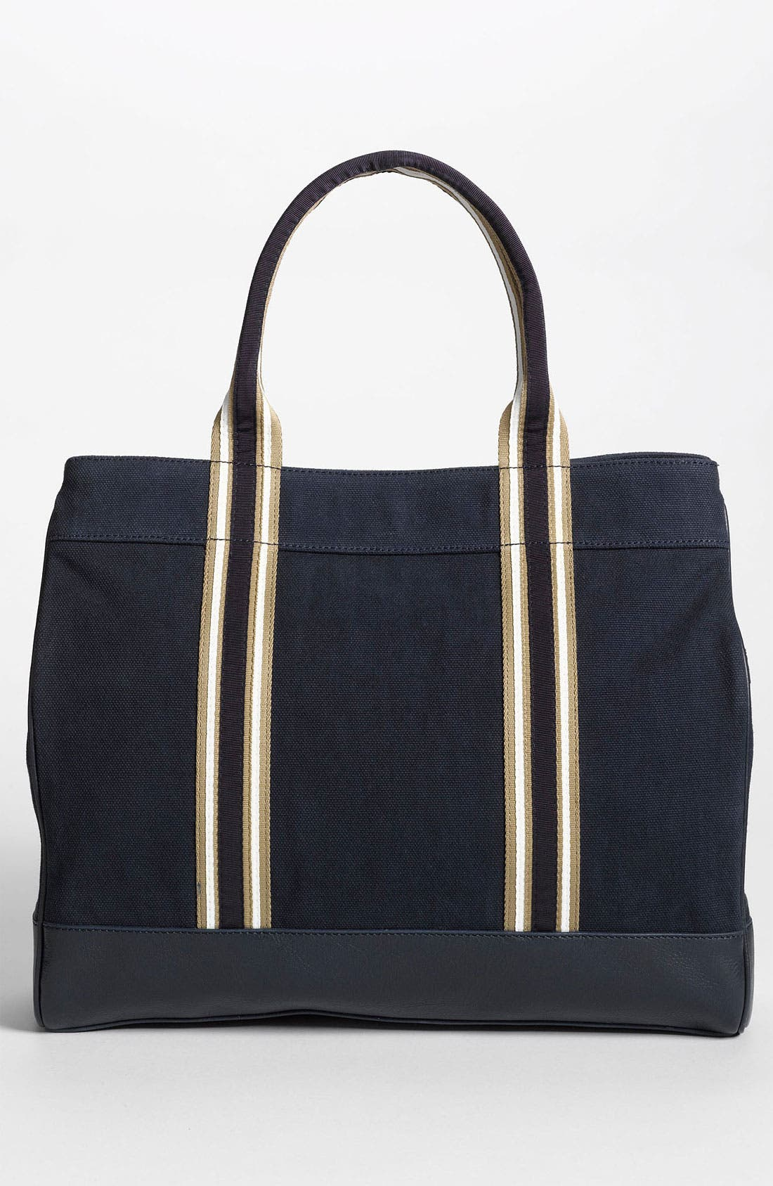 Alternate Image 4  - Tory Burch Stripe Canvas Tote, Large