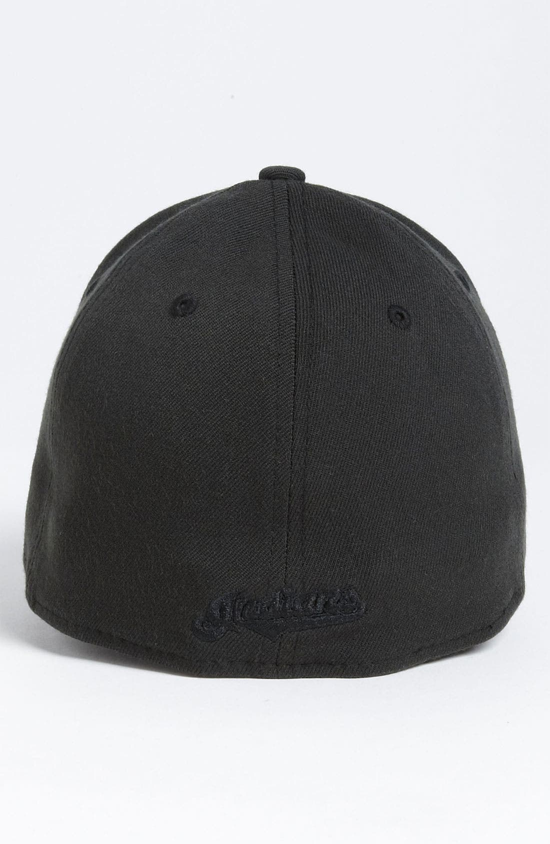 Alternate Image 2  - New Era Cap 'Cleveland Indians - Tonal Classic' Fitted Baseball Cap