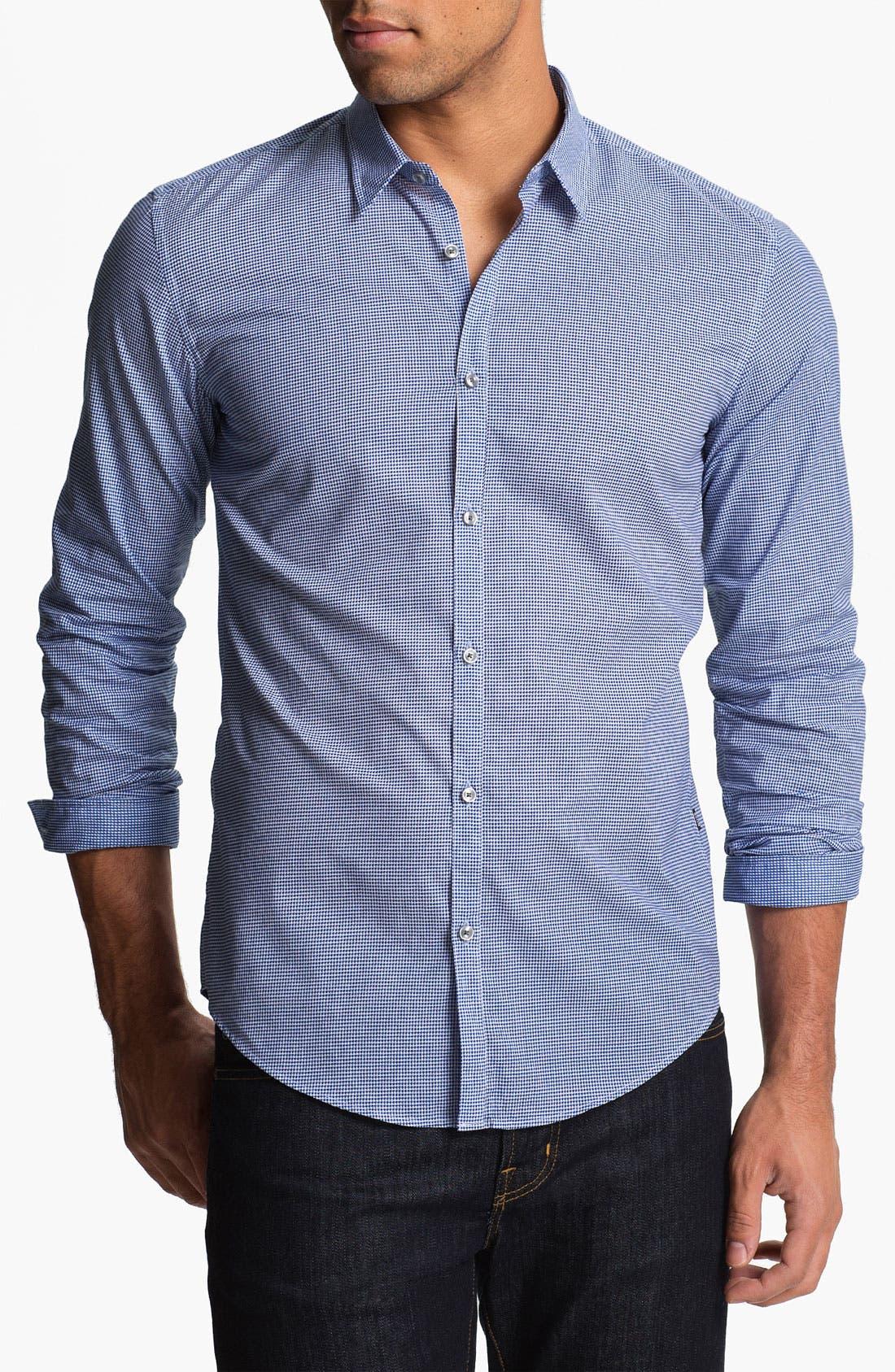 Main Image - BOSS Black 'Remus' Slim Fit Sport Shirt