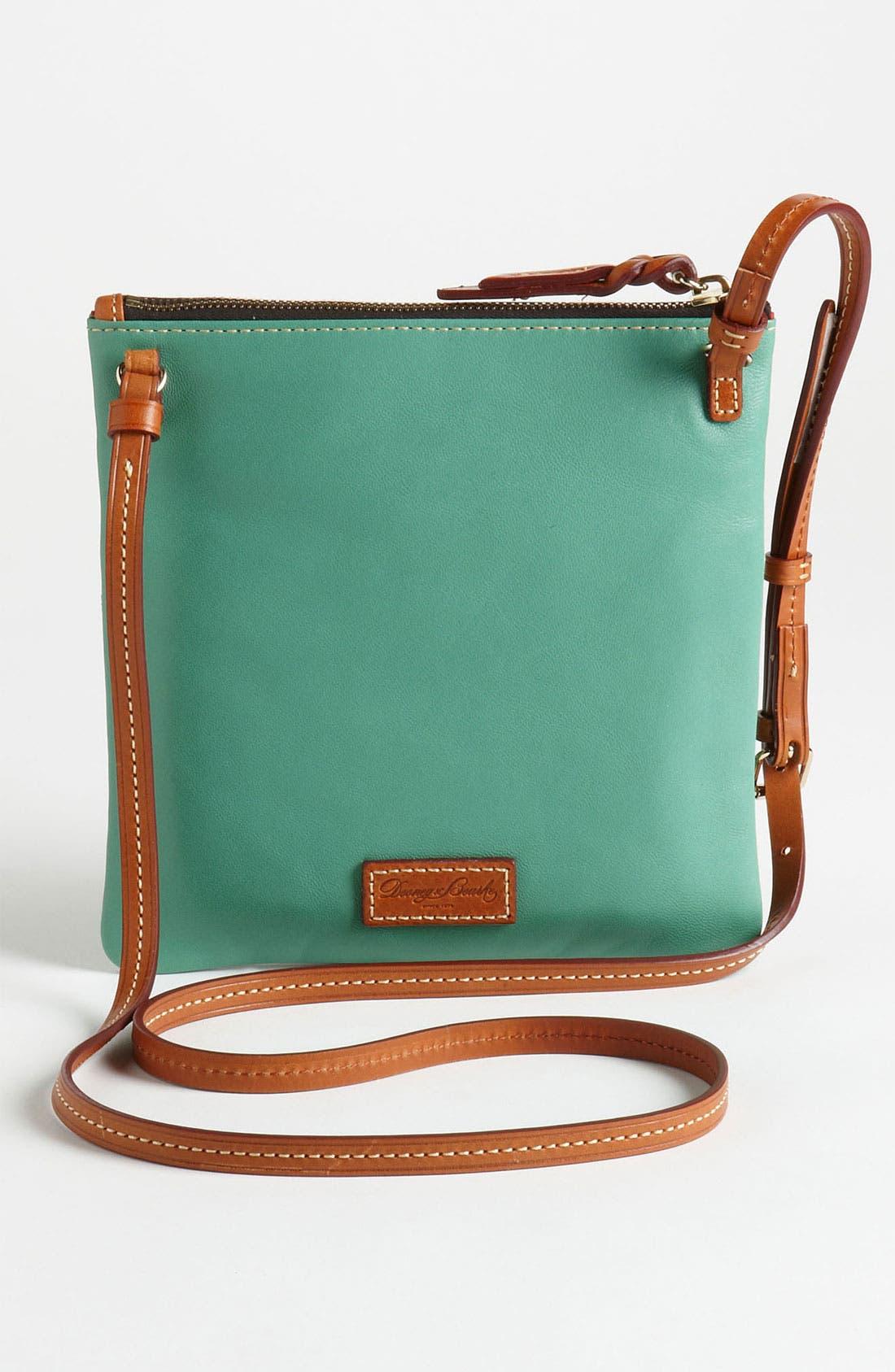 Alternate Image 4  - Dooney & Bourke Triple Zip Leather Crossbody Bag