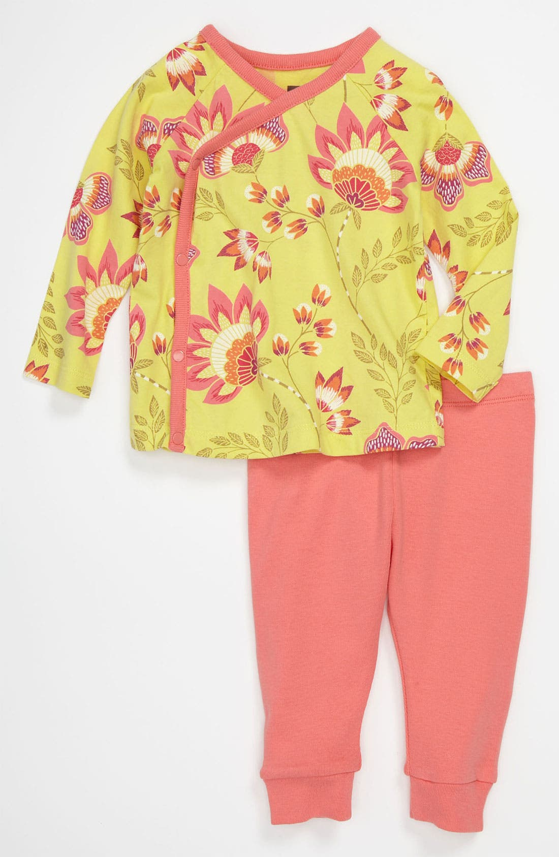 Alternate Image 1 Selected - Tea Collection 'Ardmore' Top & Leggings (Baby)