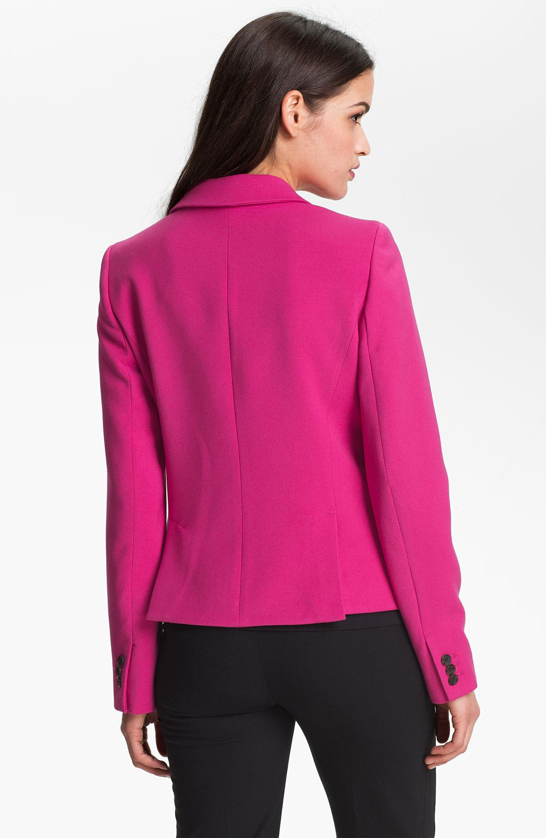 Alternate Image 2  - Anne Klein Faux Double Breasted Jacket