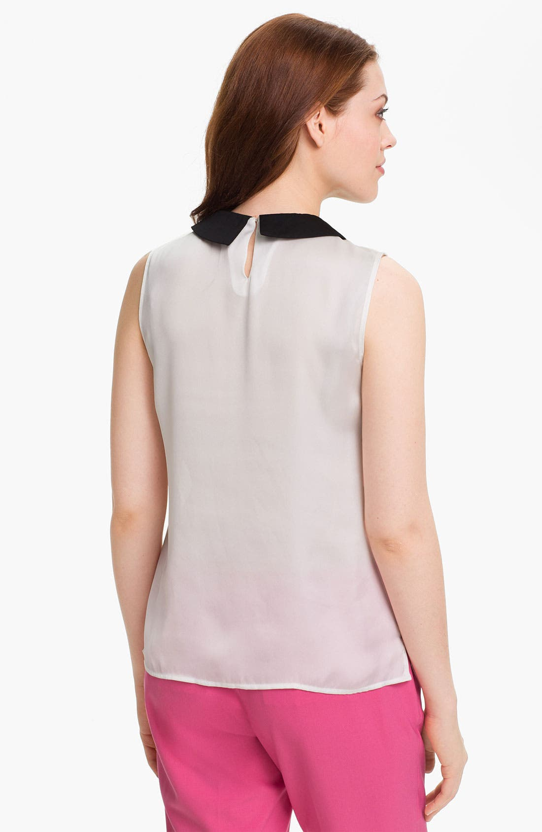 Alternate Image 2  - Vince Camuto Sleeveless Collared Blouse