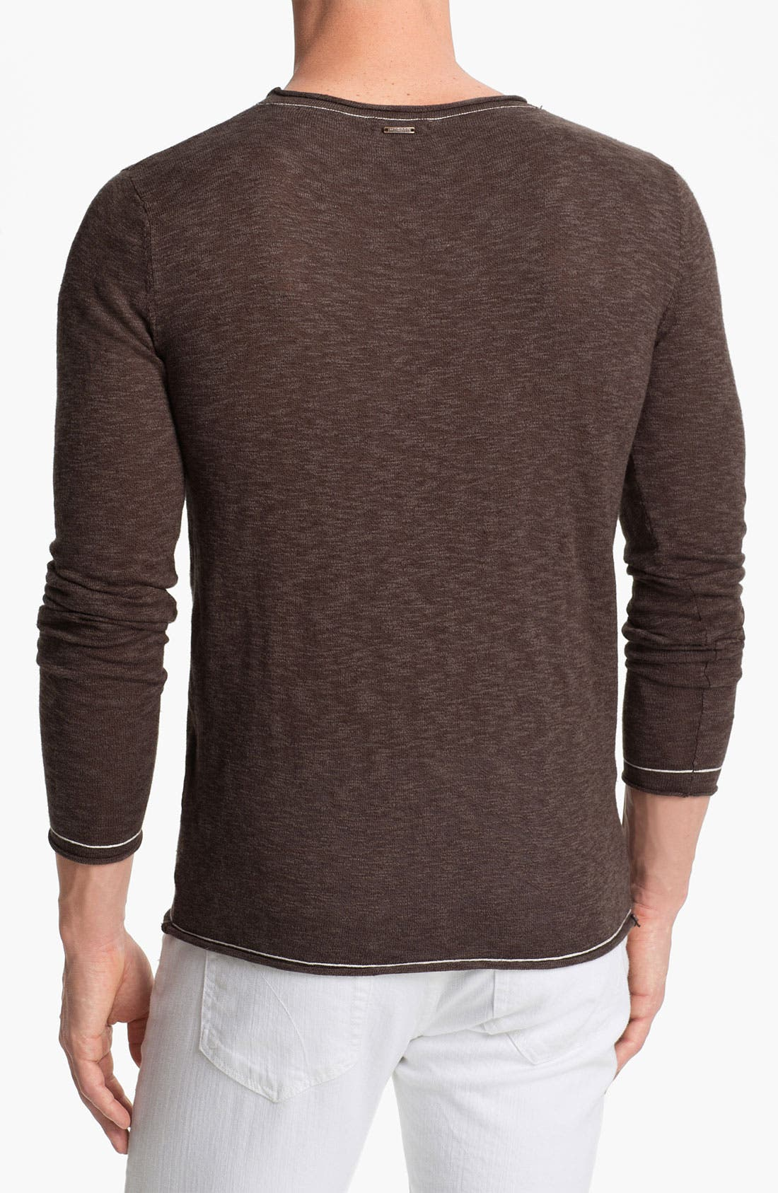 Alternate Image 2  - Antony Morato Slub Crewneck Sweater