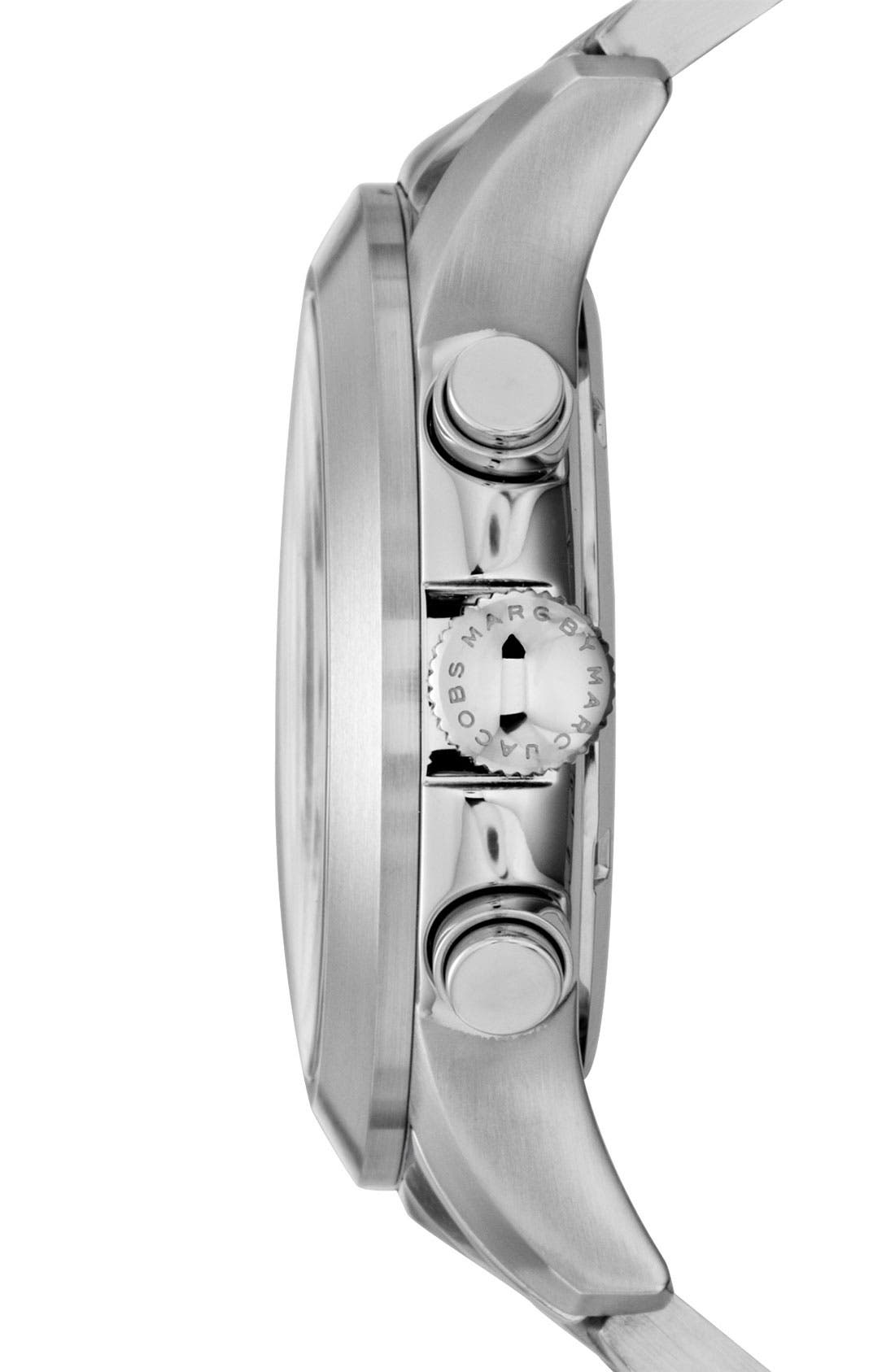 Alternate Image 2  - MARC BY MARC JACOBS 'Larry' Chronograph Bracelet Watch