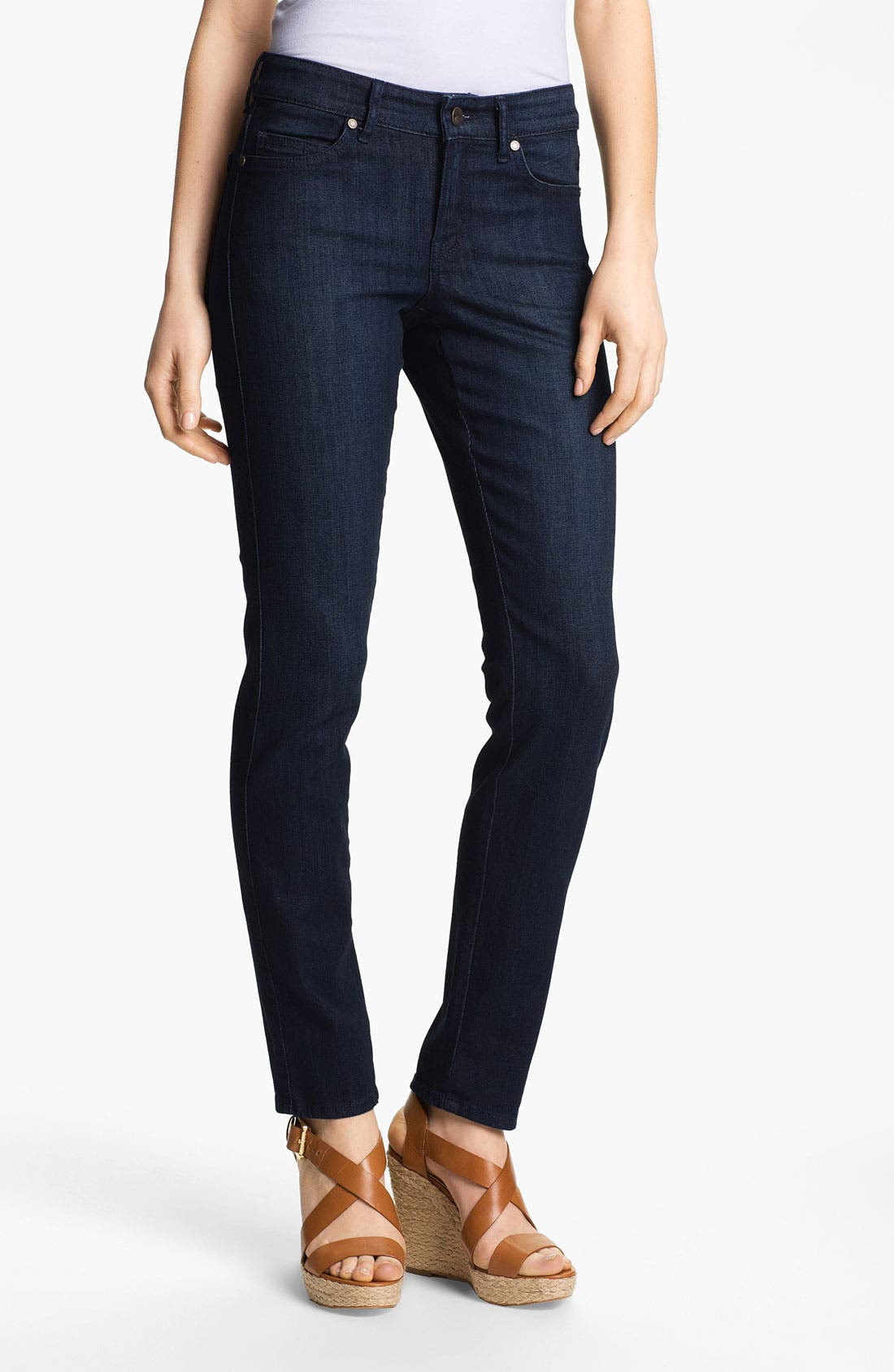 Main Image - CJ by Cookie Johnson 'Peace' Skinny Stretch Jeans (Princeville)