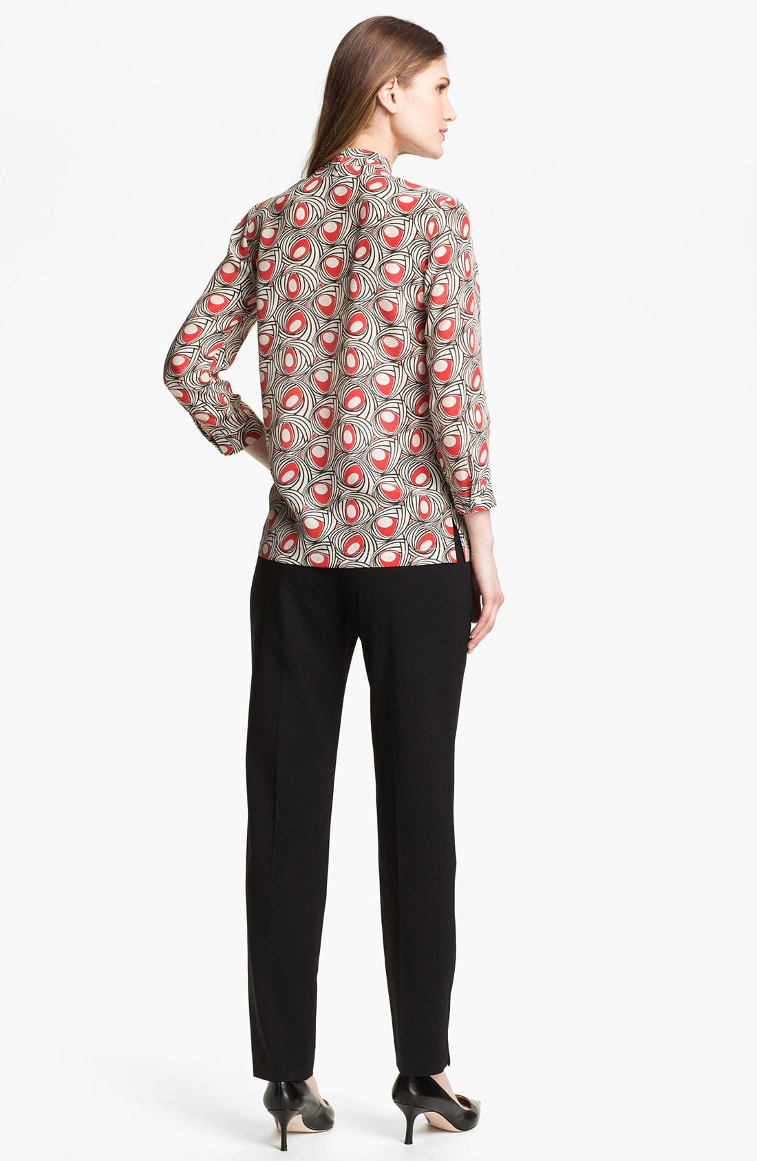 Alternate Image 5  - Lafayette 148 New York 'Niely - Marquee' Silk Blouse