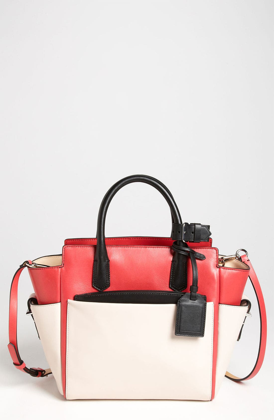 Alternate Image 1 Selected - Reed Krakoff 'Atlantique - Mini' Colorblock Leather Satchel