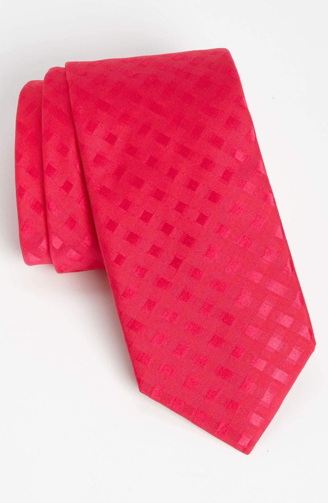 Main Image - Thomas Pink 'Lytton' Woven Silk Tie