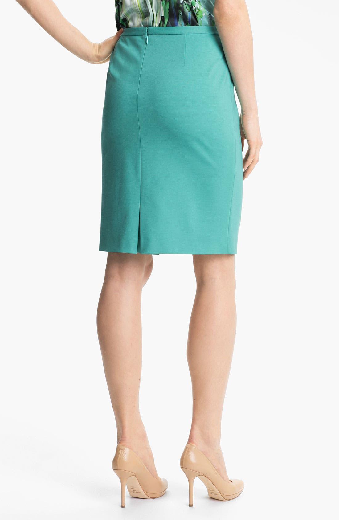 Alternate Image 2  - Elie Tahari 'Kim' Jersey Skirt