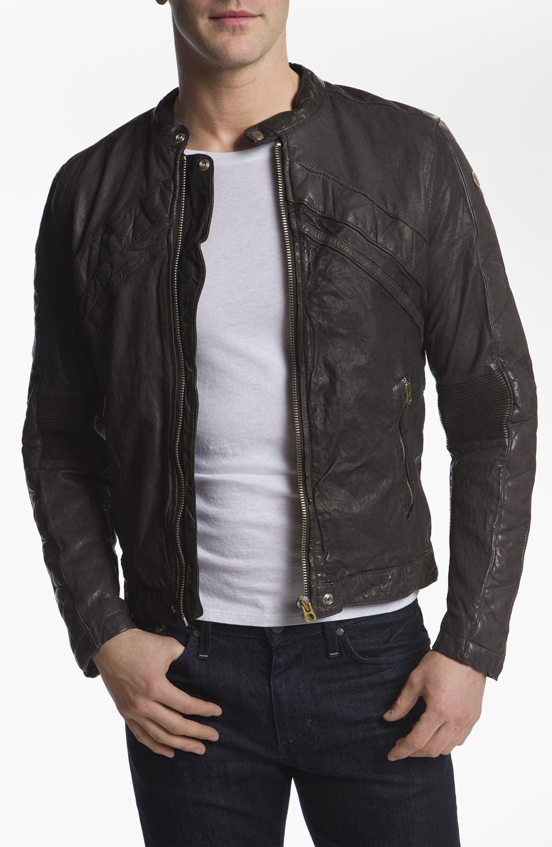 Alternate Image 1 Selected - DIESEL® 'Lumi' Leather Jacket