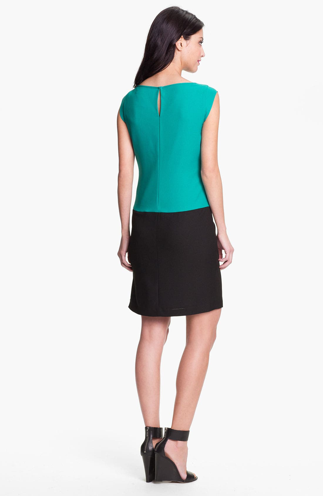 Alternate Image 2  - Marc New York by Andrew Marc Colorblock Crepe Shift Dress