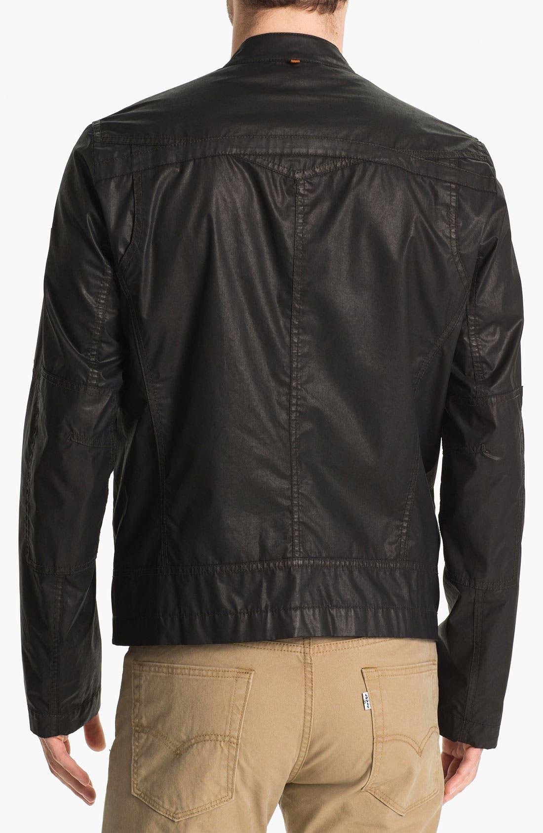 Alternate Image 2  - BOSS Orange 'Odelta' Coated Cotton Jacket