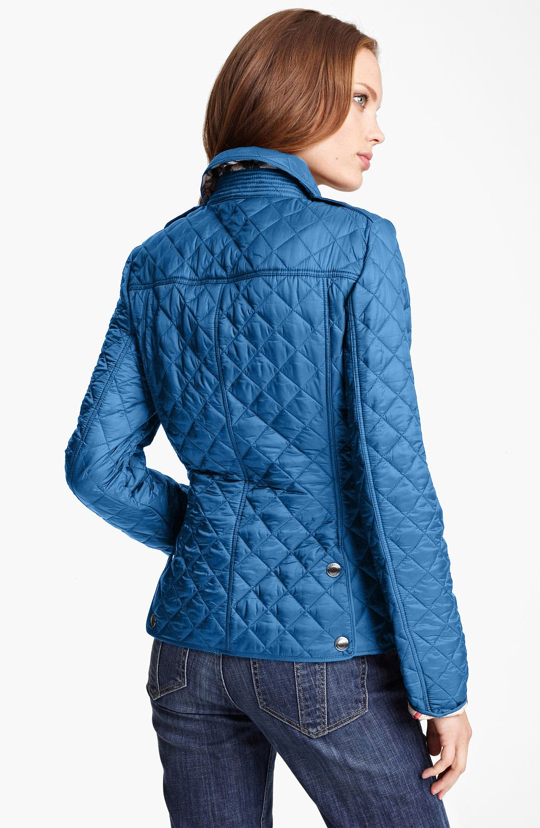 Alternate Image 2  - Burberry Brit 'Kencott' Patch Pocket Quilted Coat