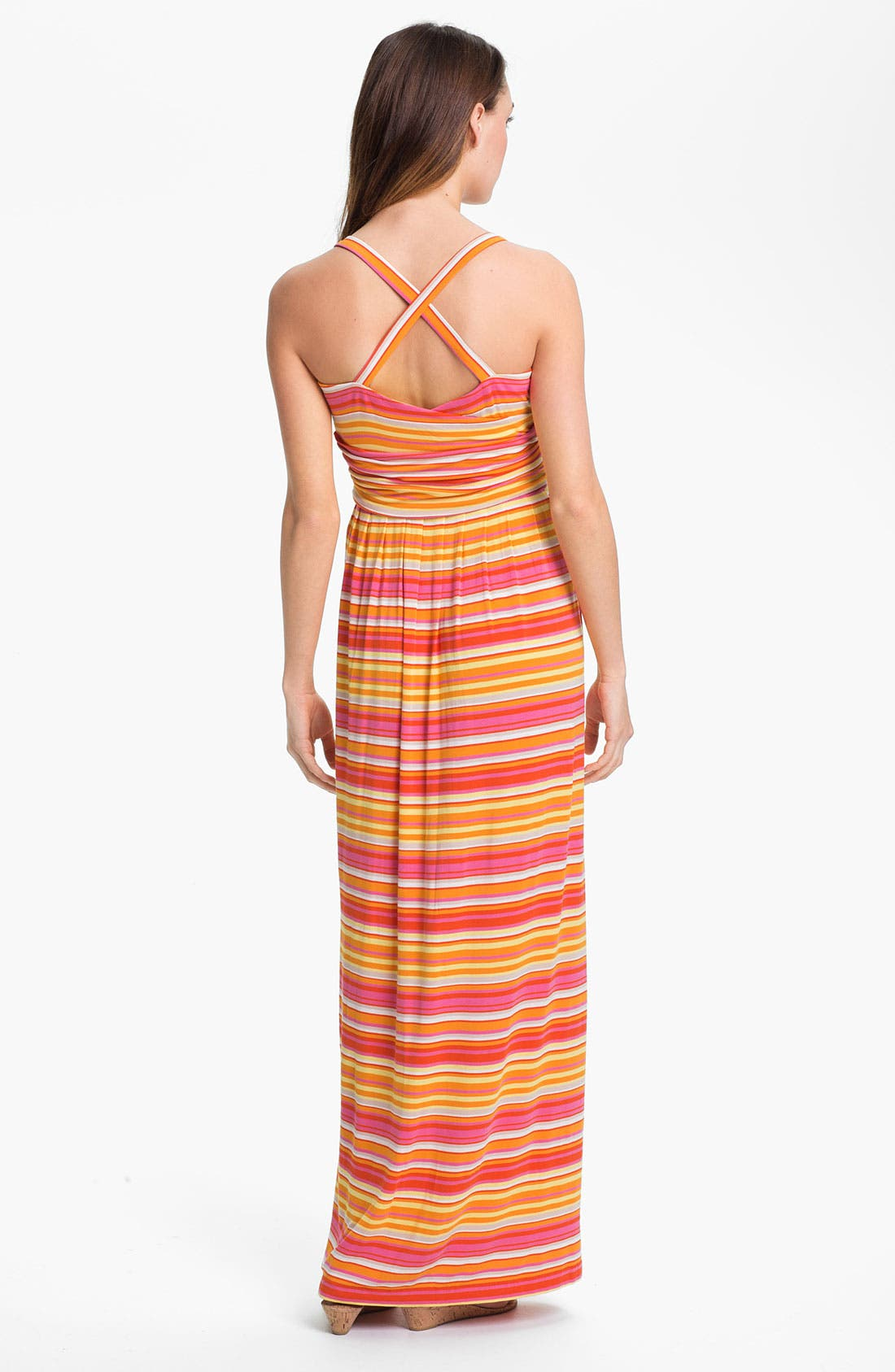 Alternate Image 2  - Vince Camuto 'Sun Streaked Stripe' Maxi Dress