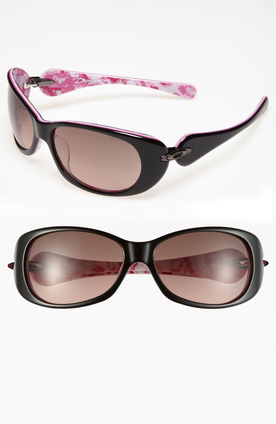 Main Image - Oakley 'Dangerous™' - Breast Cancer Awareness Edition' 61mm Sunglasses